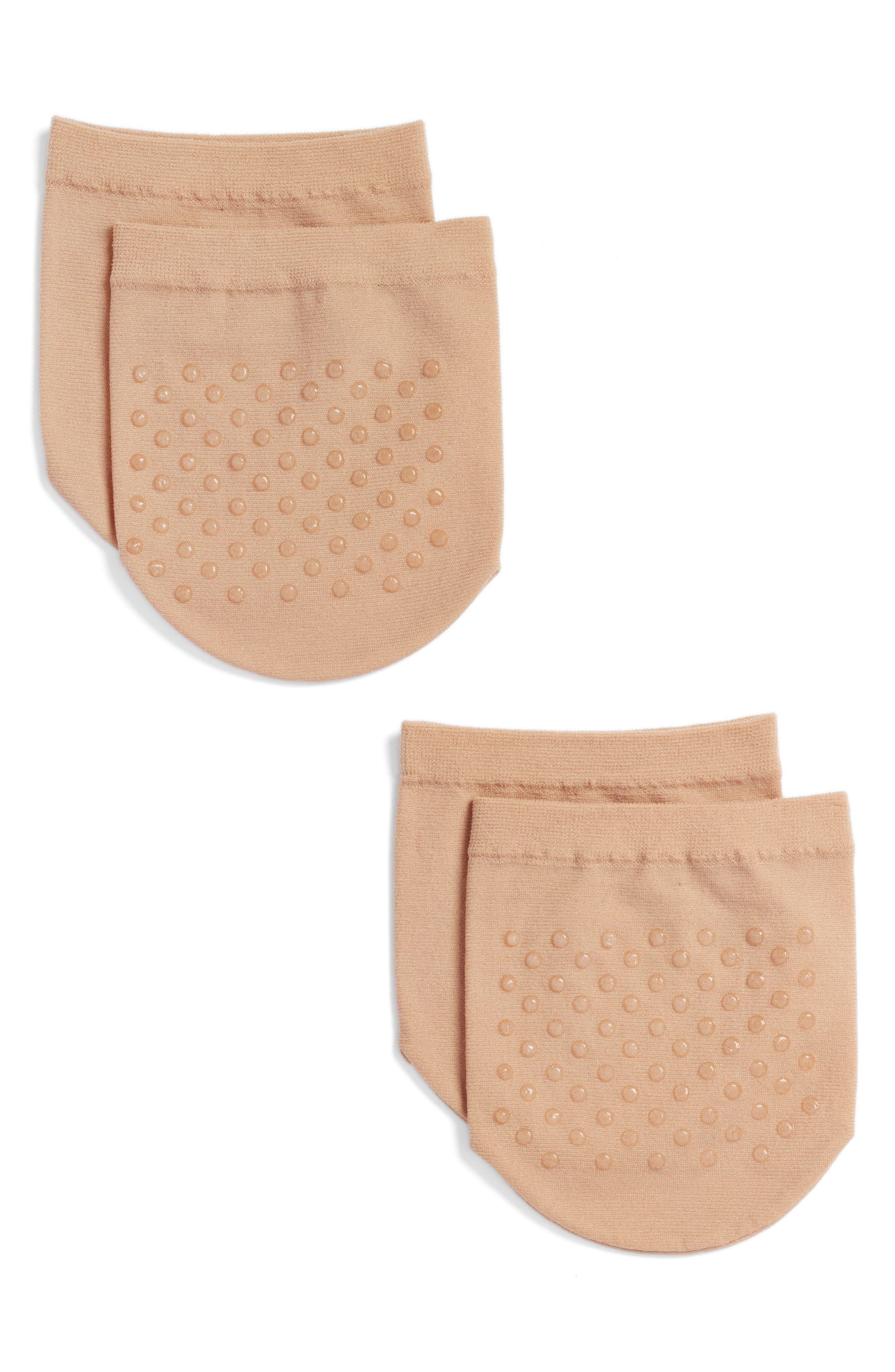 SOCKART 2-Pack Gripper Mule Socks