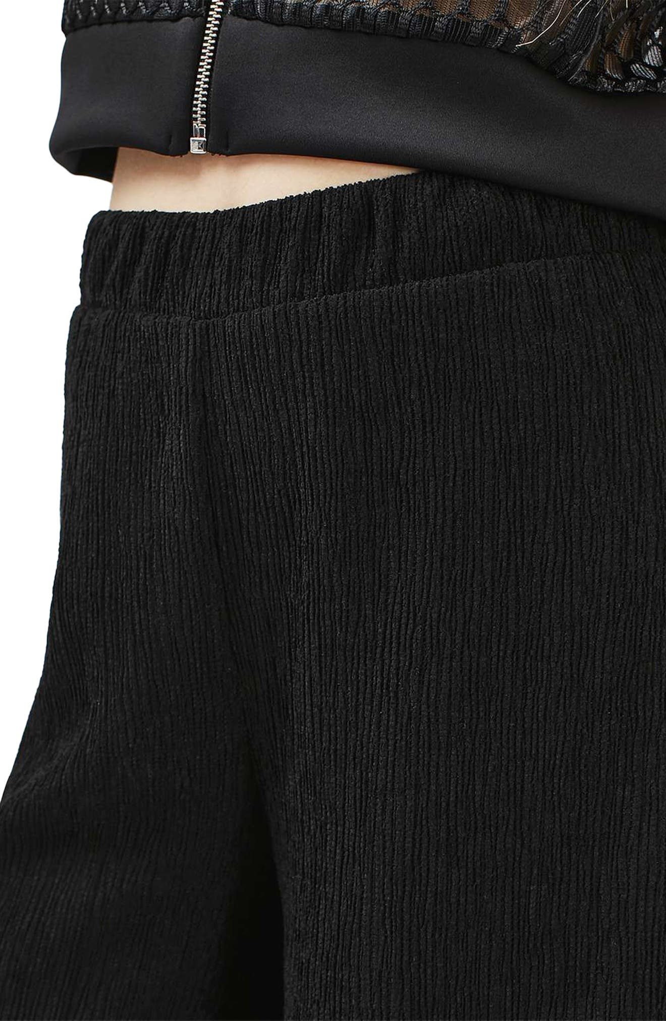 Alternate Image 5  - Topshop Wide Leg Trousers