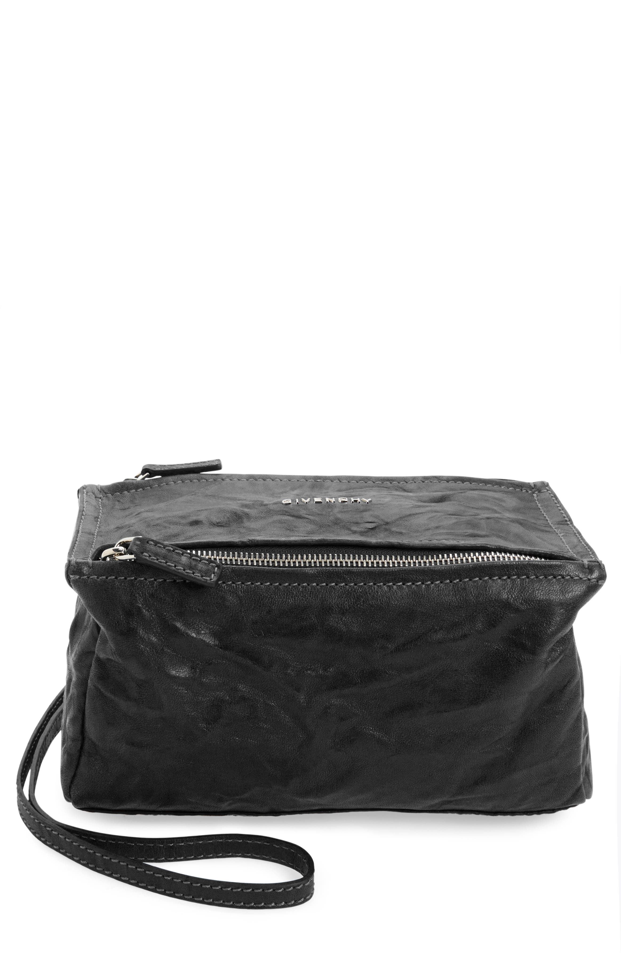 Givenchy 'Mini Pepe Pandora' Leather Shoulder Bag