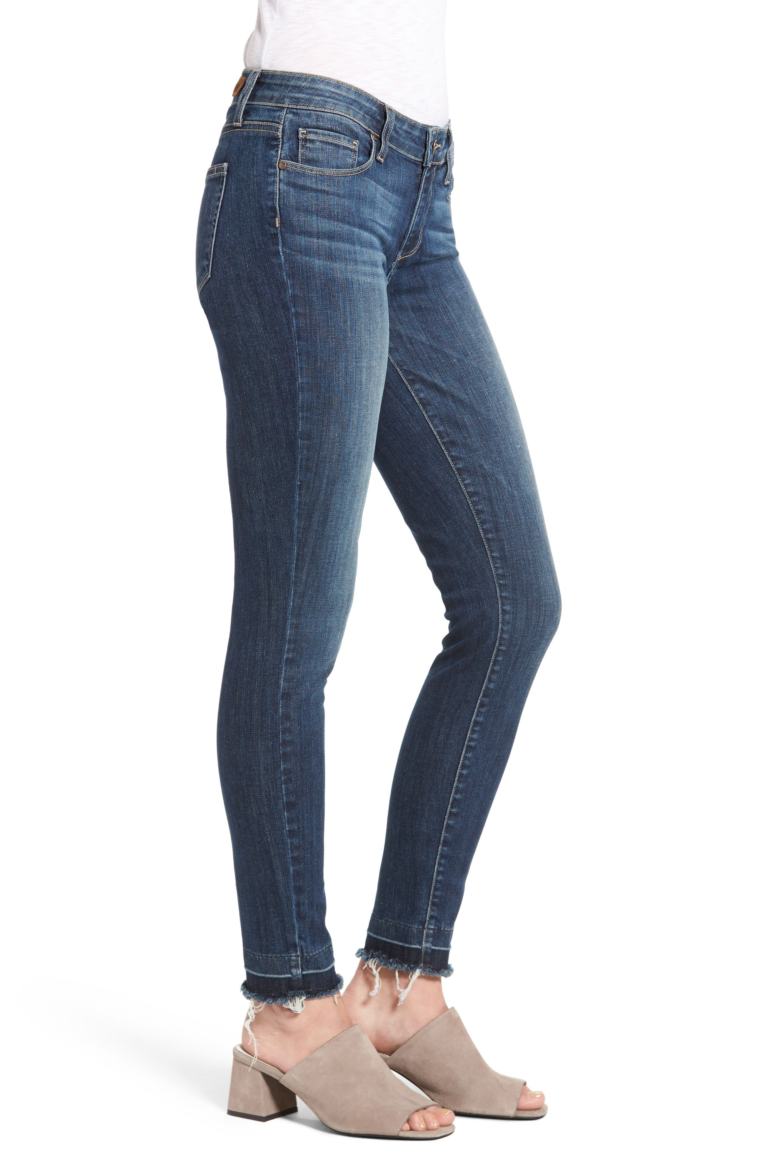 Legacy - Verdugo Ankle Ultra Skinny Jeans,                             Alternate thumbnail 4, color,                             Sandy