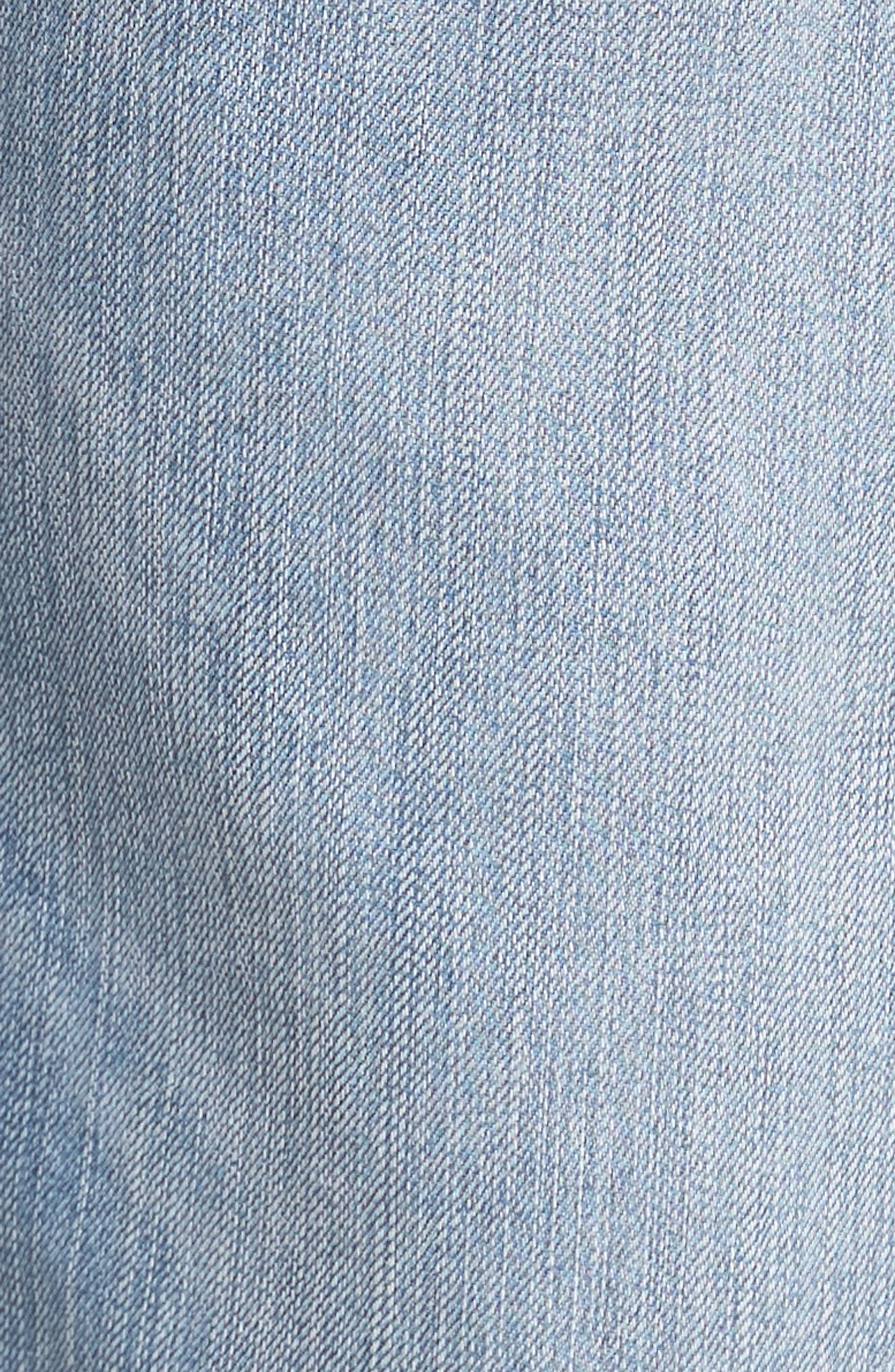 Sorrento Straight Leg Jeans,                             Alternate thumbnail 5, color,                             Light Wash