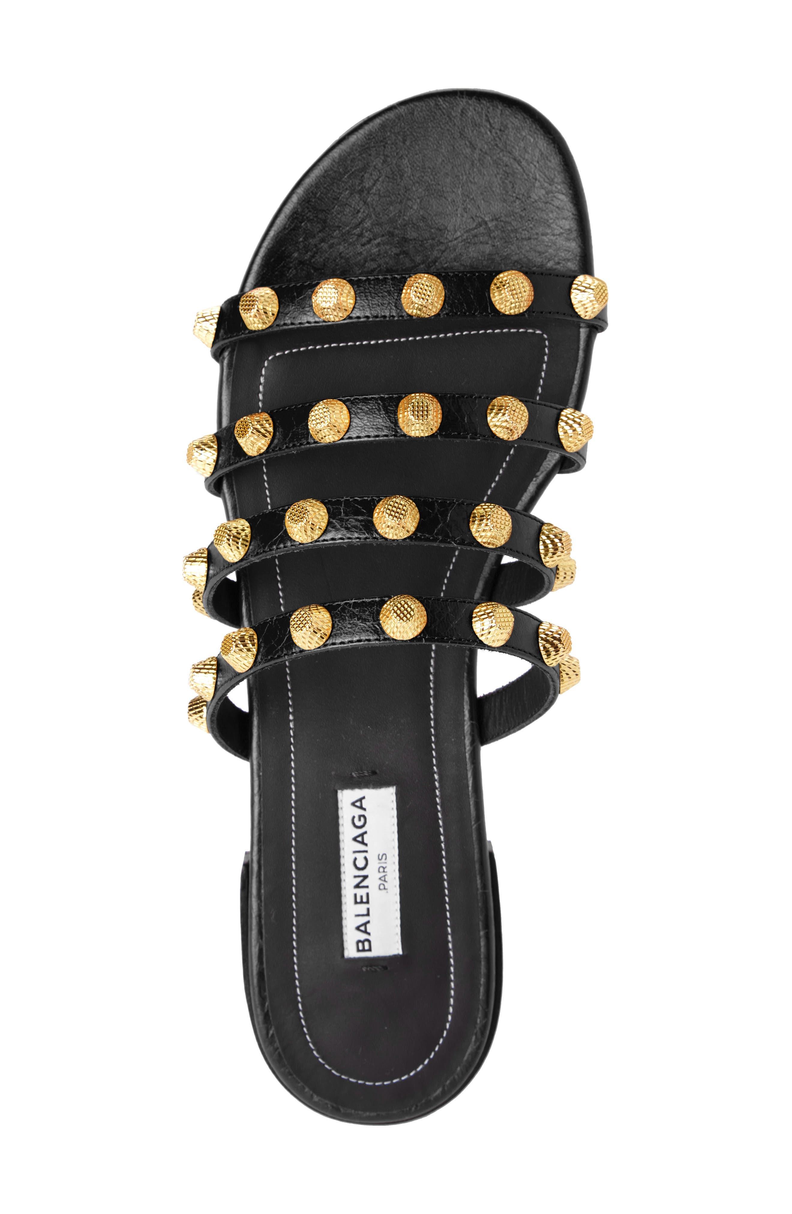 Alternate Image 3  - Balenciaga Studded Slide Sandal (Women)