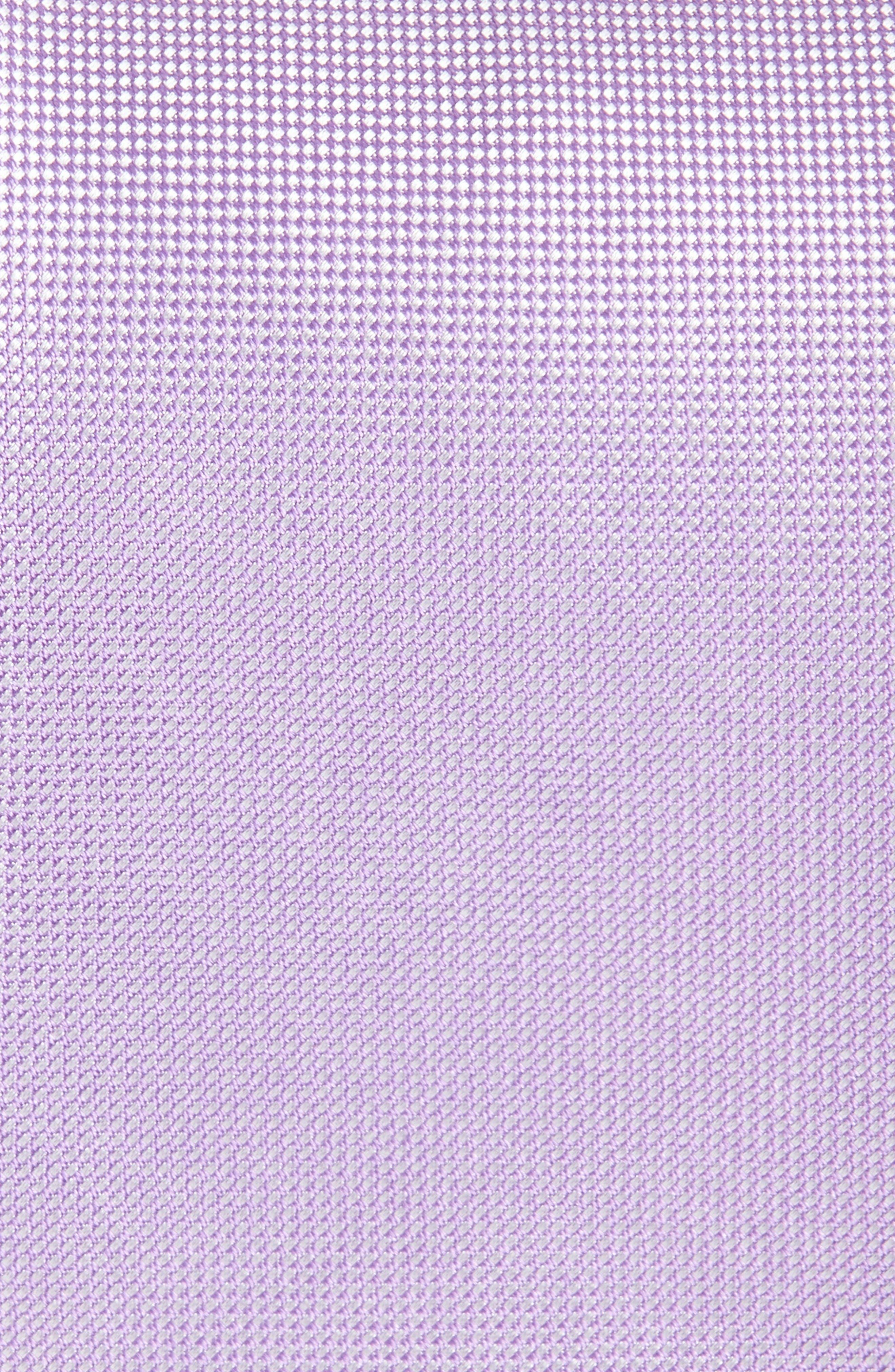 Foley Silk Tie,                             Alternate thumbnail 2, color,                             Purple