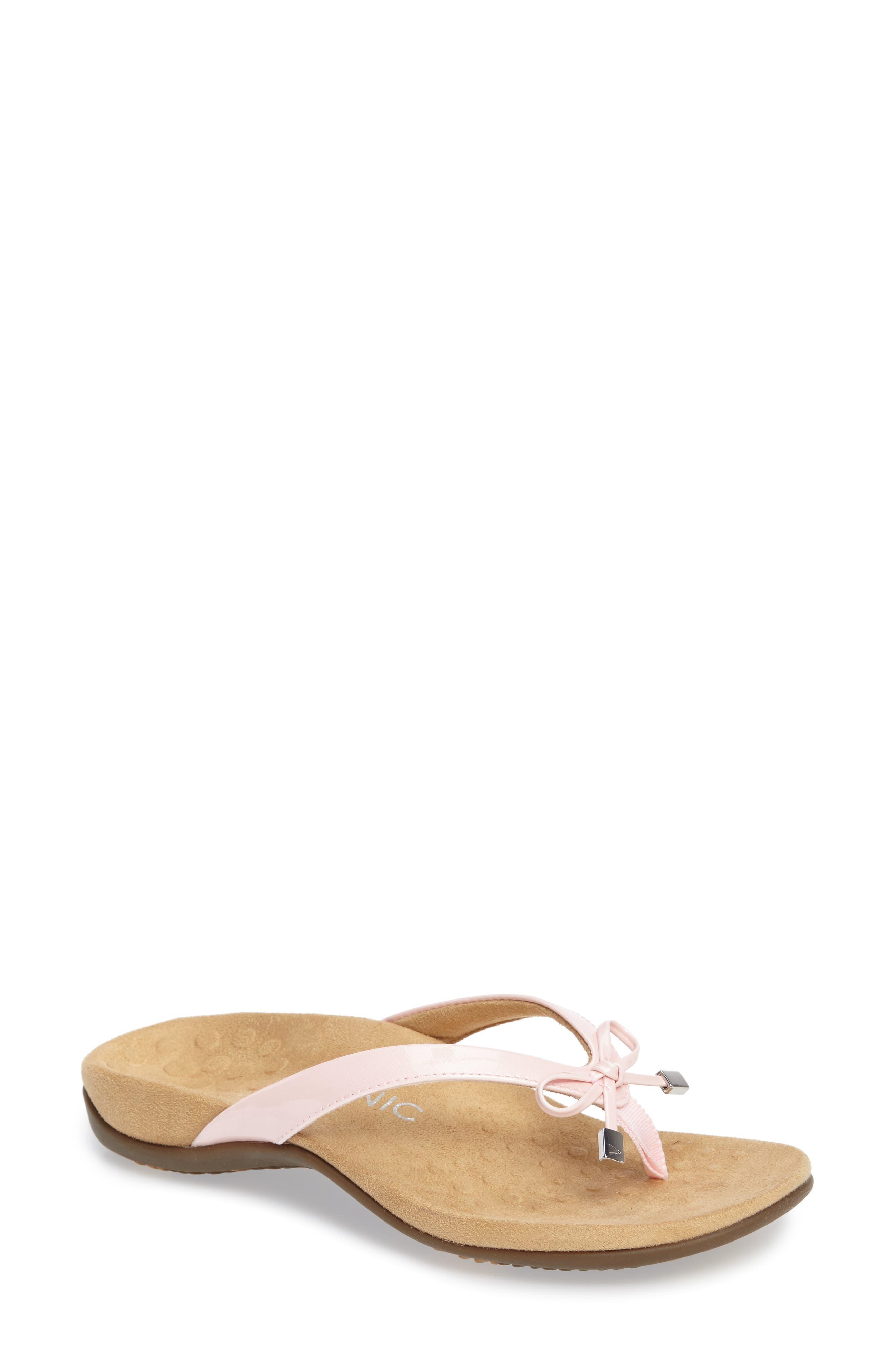 'Bella II' Sandal,                         Main,                         color, Pink Faux Leather