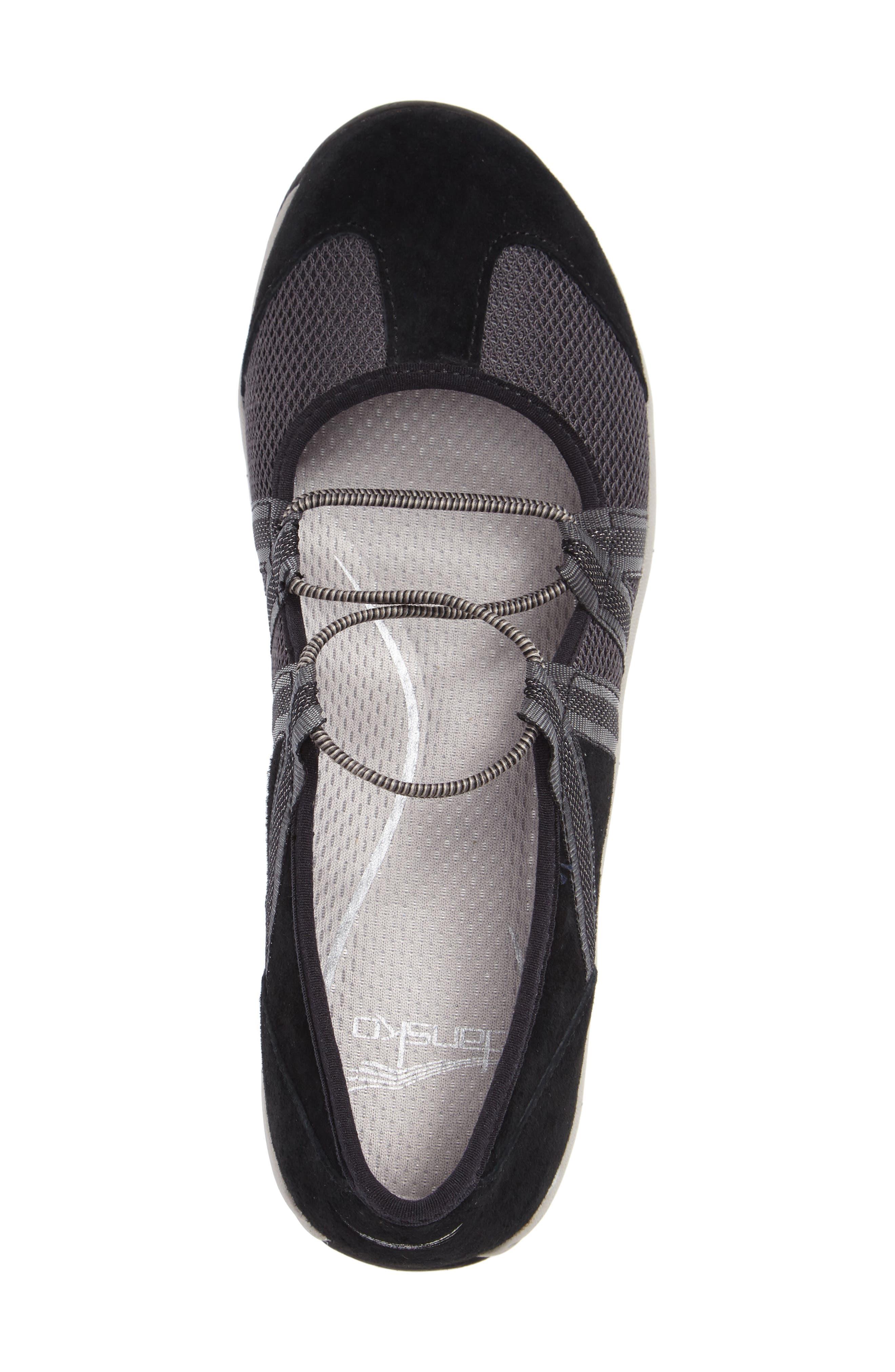 Honey Slip-On Sneaker,                             Alternate thumbnail 3, color,                             Black Suede