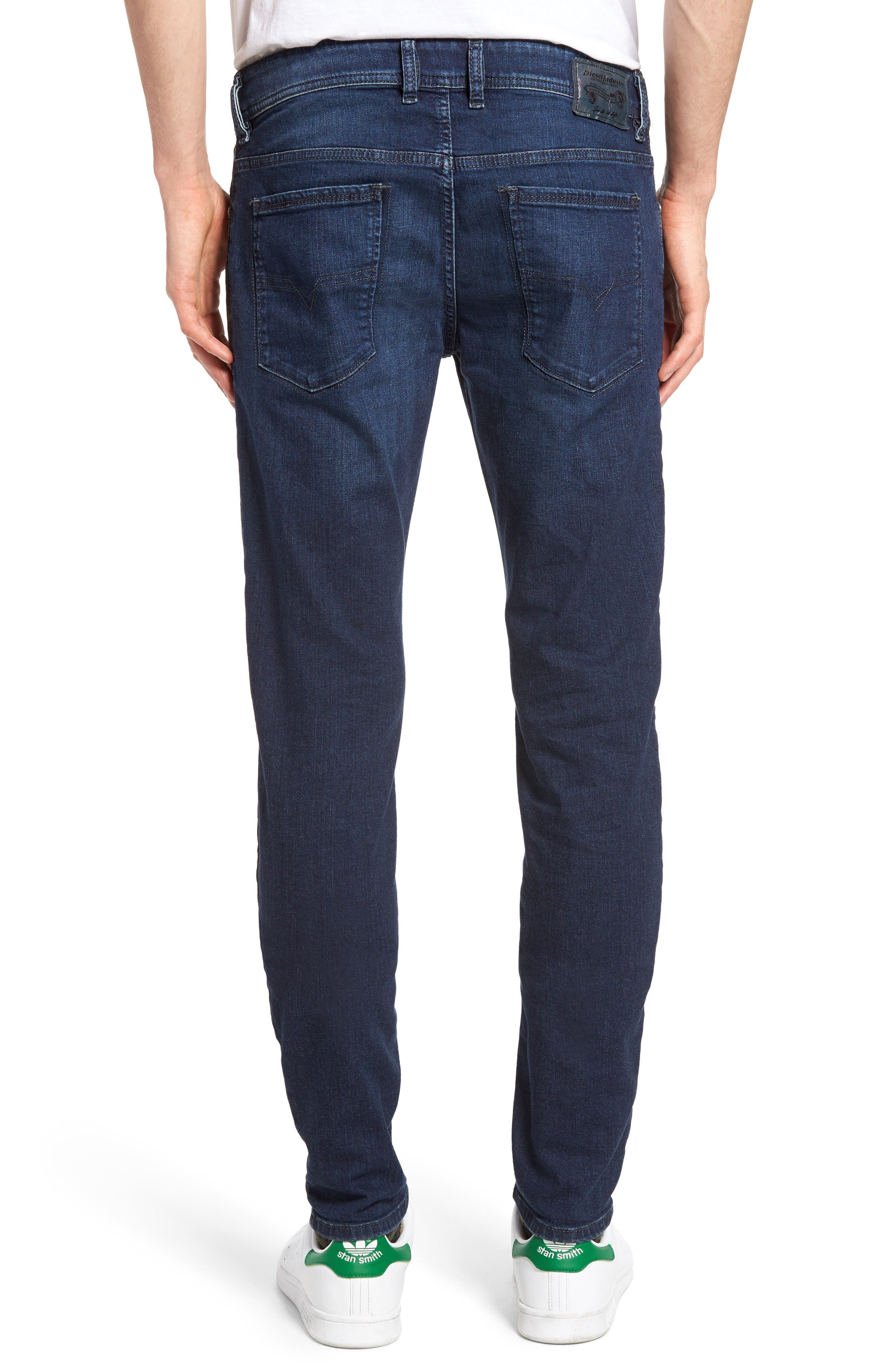 Alternate Image 2  - DIESEL® Sleenker Skinny Fit Jeans (0854E)