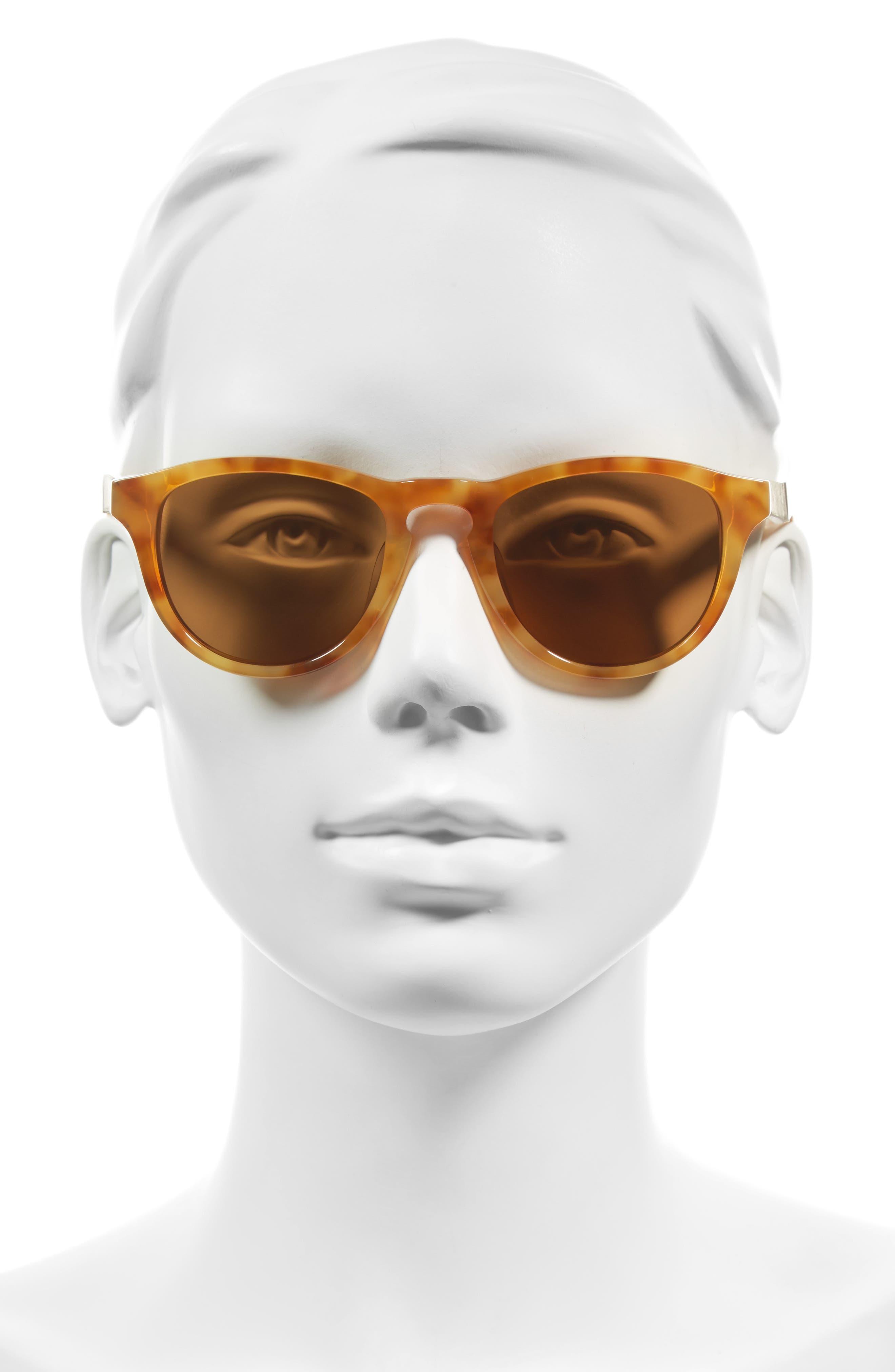 Ace 48mm Sunglasses,                             Alternate thumbnail 2, color,                             Amber/ Elm/ Brown Polar