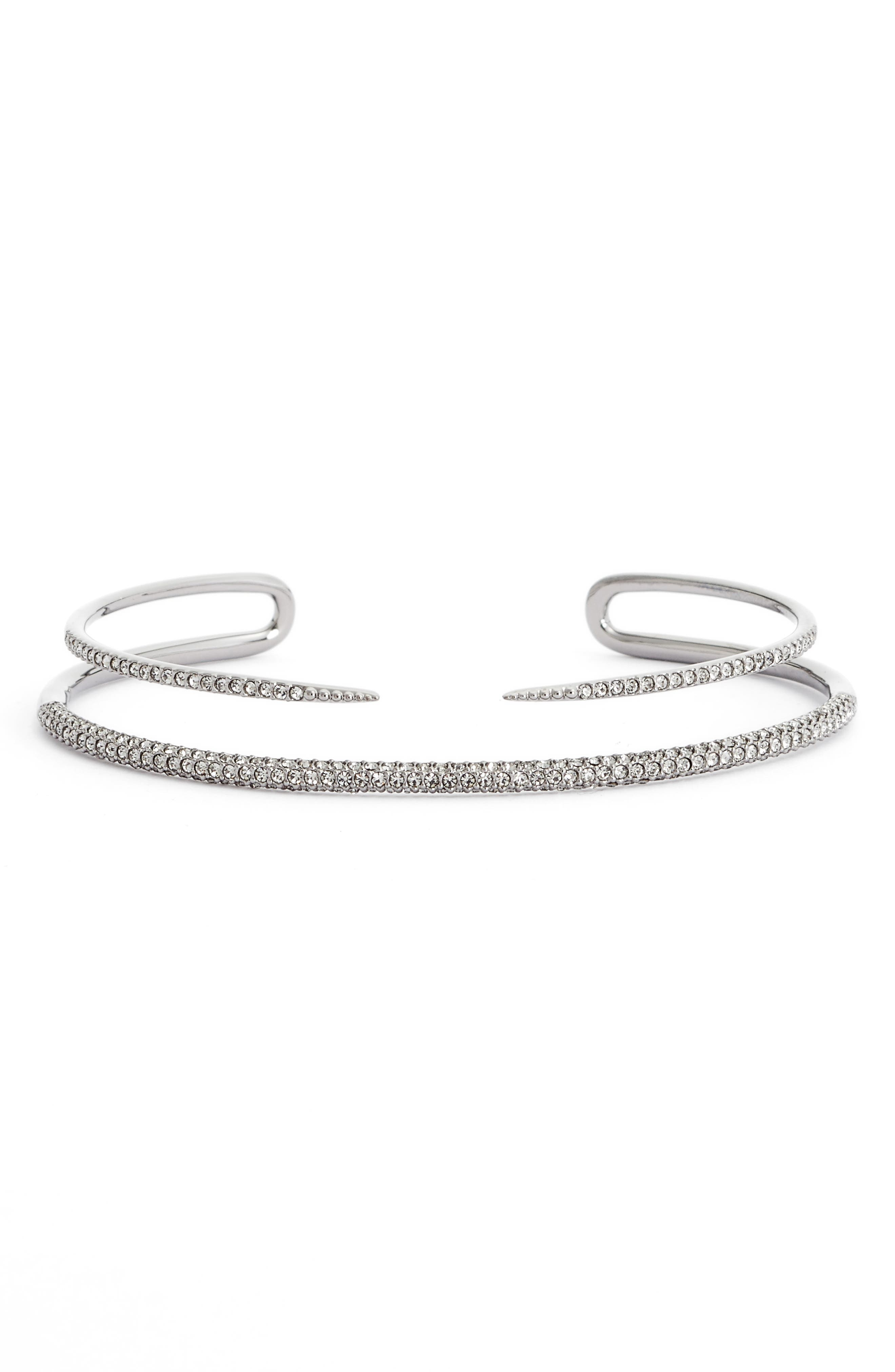 Alternate Image 1 Selected - Nadri Kate Pavé Openwork Cuff
