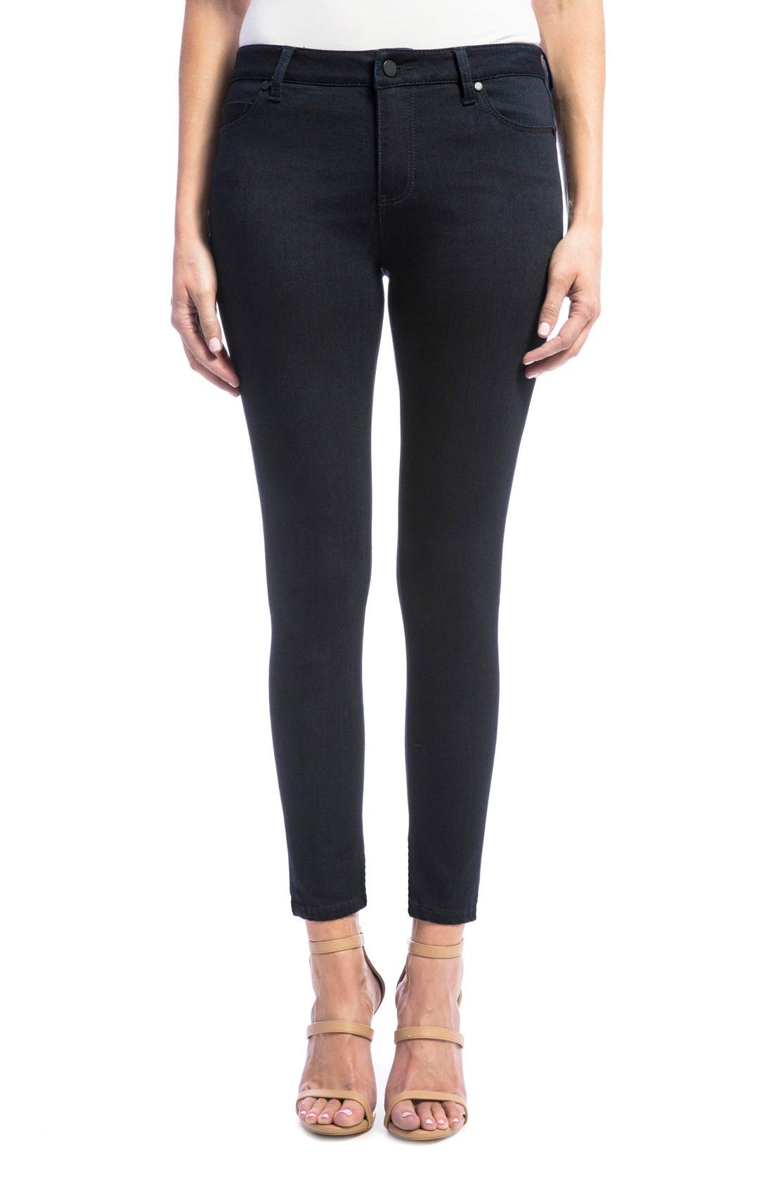 Penny Skinny Ankle Jeans,                         Main,                         color, Indigo Rinse