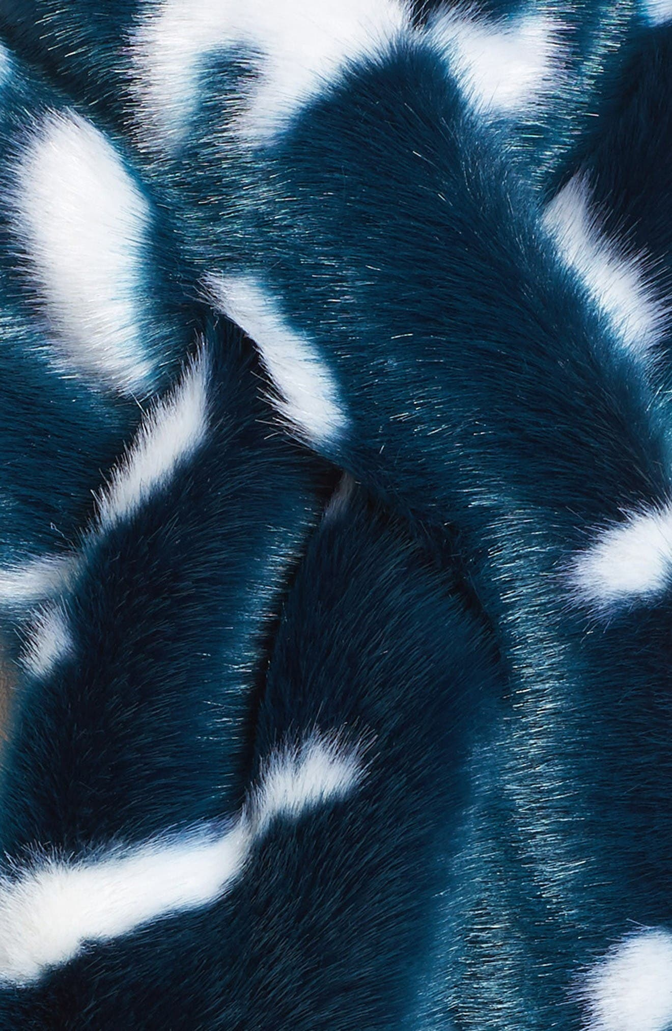 Alternate Image 3  - Ted Baker London Colorblock Faux Fur Scarf