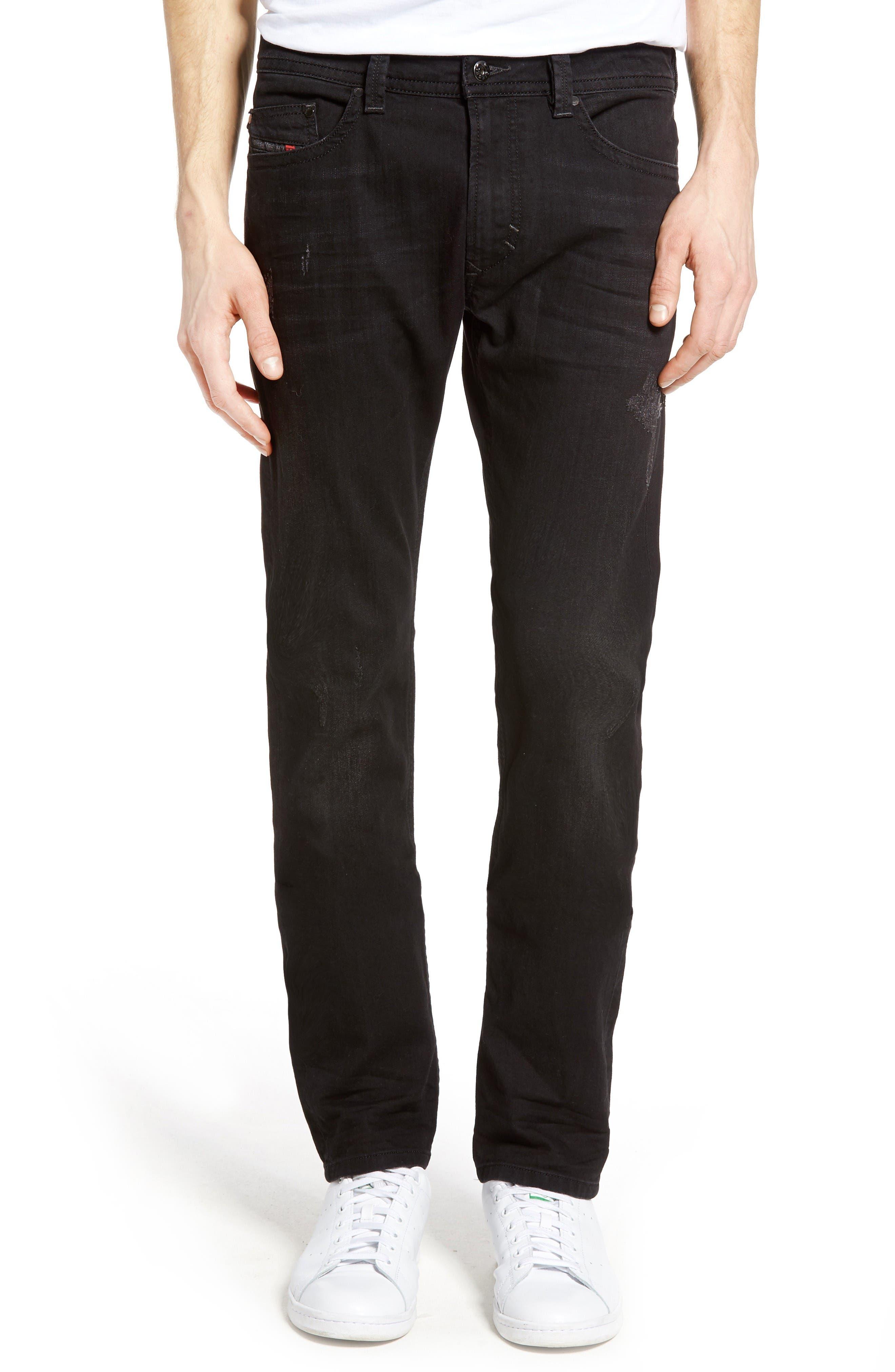 Alternate Image 1 Selected - DIESEL® Thavar Skinny Fit Jeans (0679F)