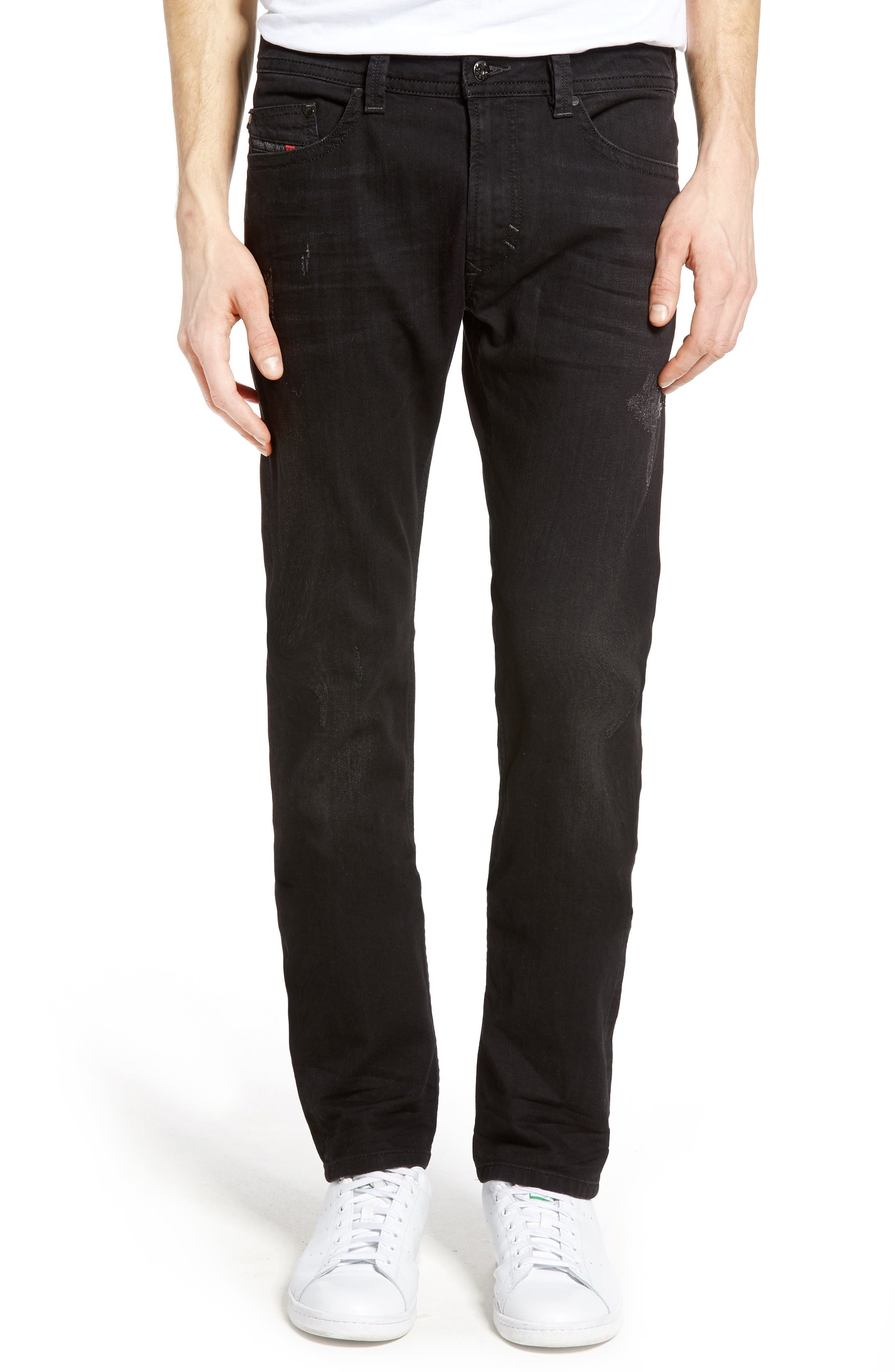 DIESEL® Thavar Skinny Fit Jeans (0679F)