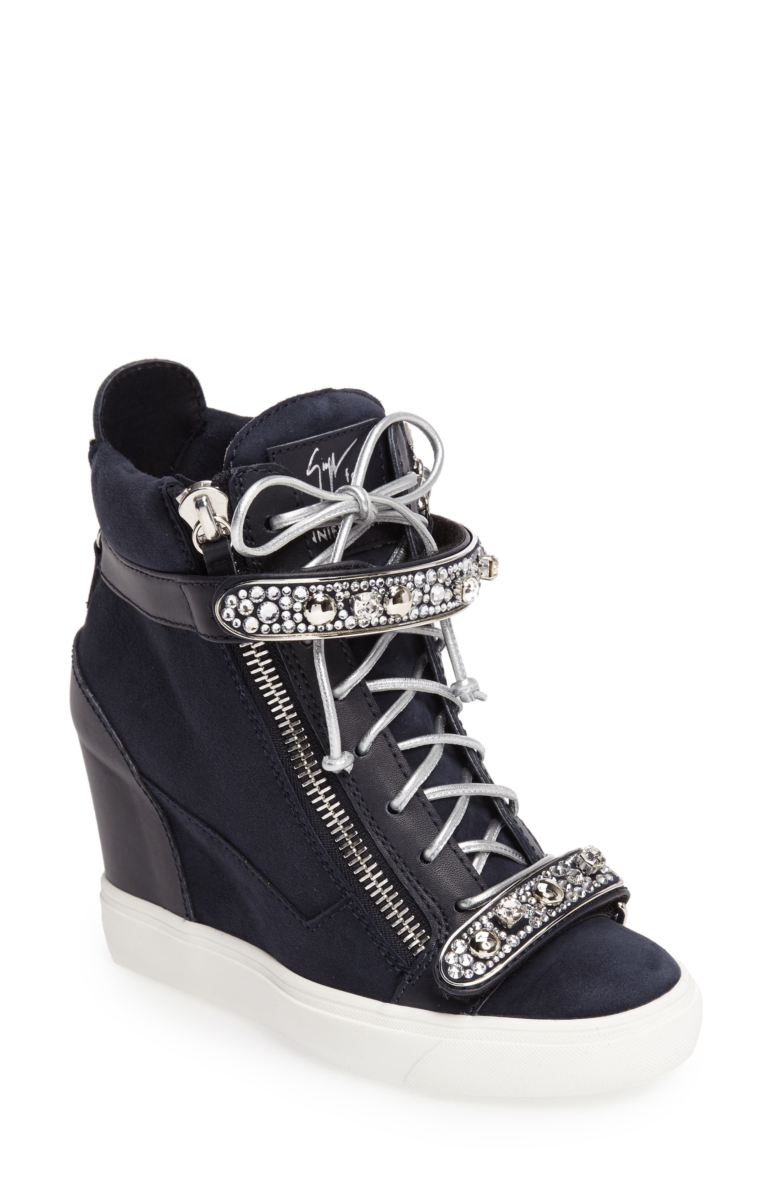 Giuseppe for Jennifer Lopez Tiana Hidden Wedge Sneaker (Women)