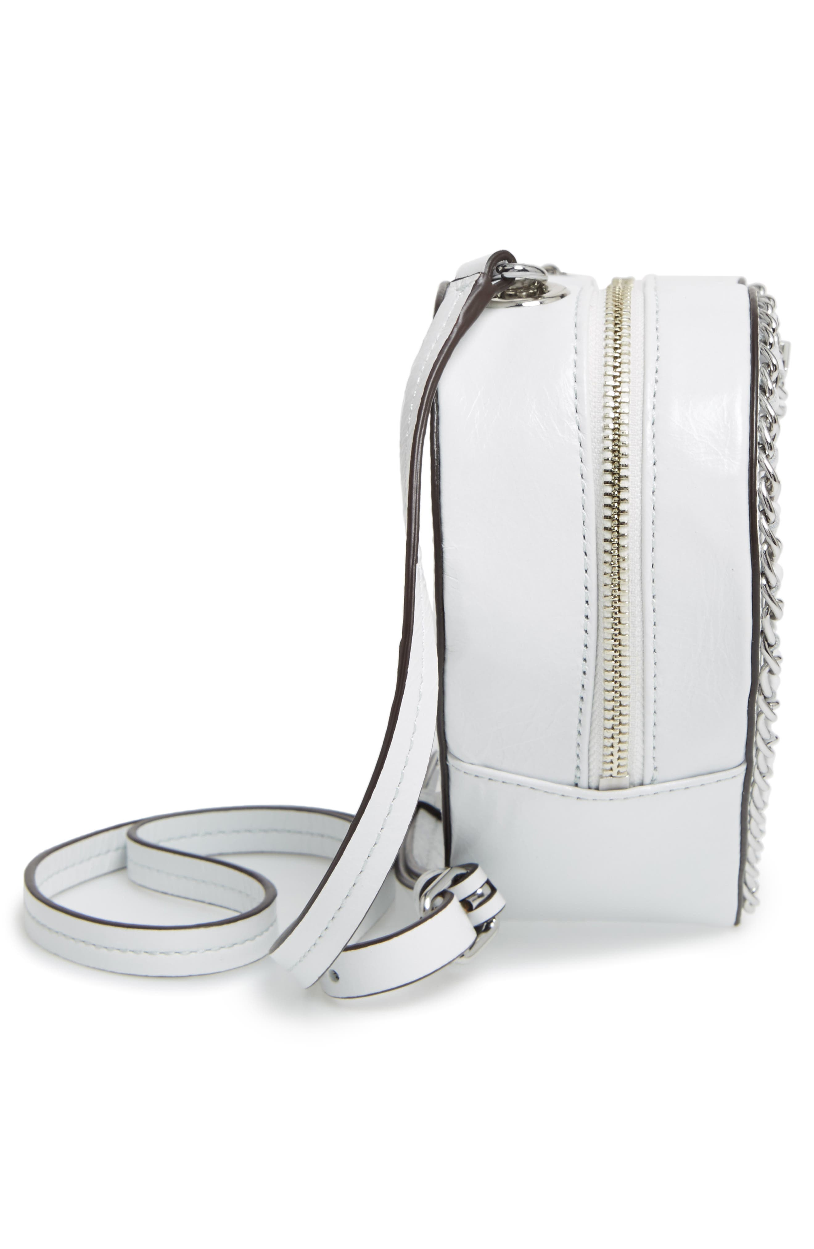 Alternate Image 5  - Rebecca Minkoff Chain Heart Crossbody Bag
