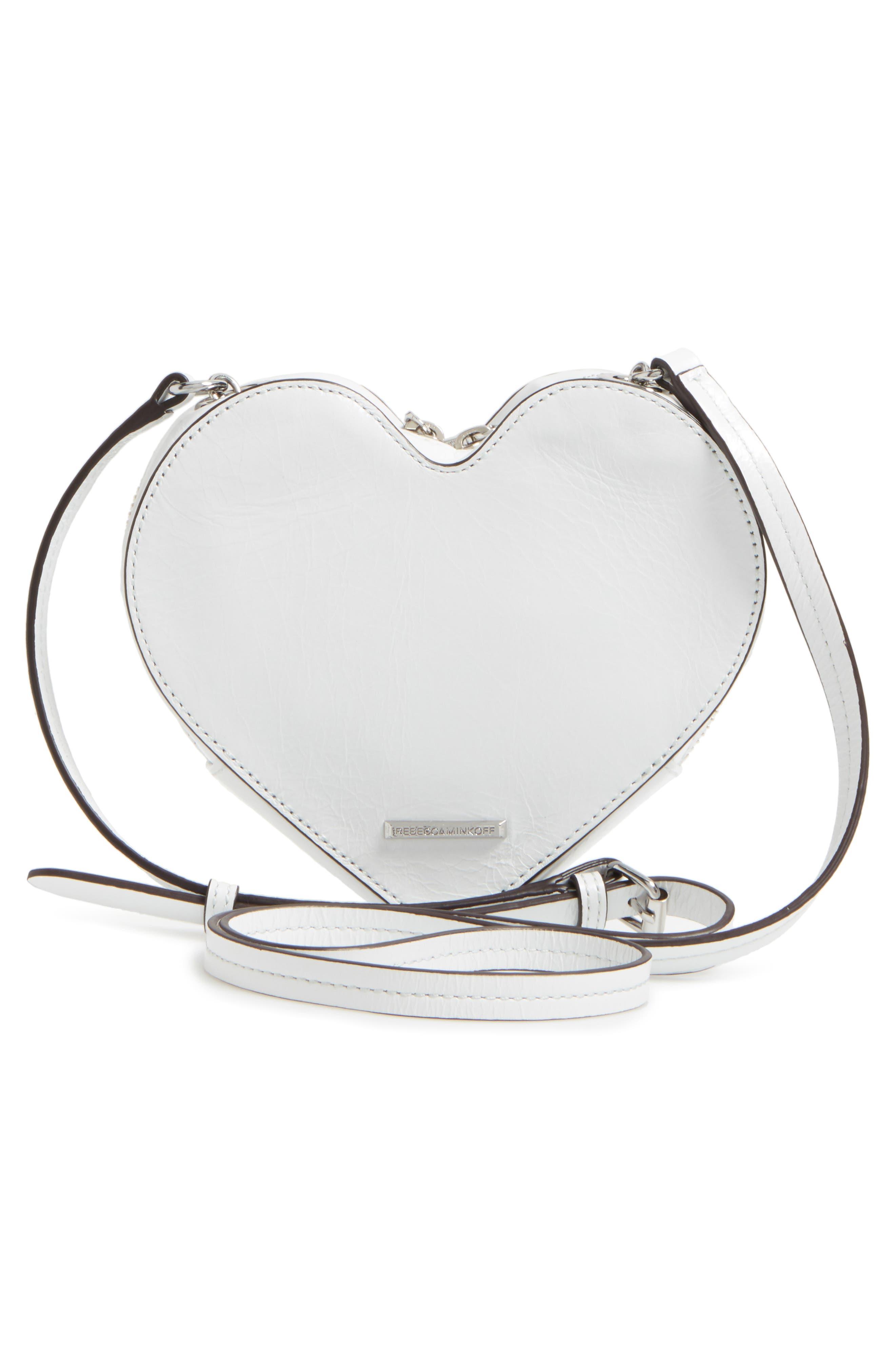 Alternate Image 3  - Rebecca Minkoff Chain Heart Crossbody Bag