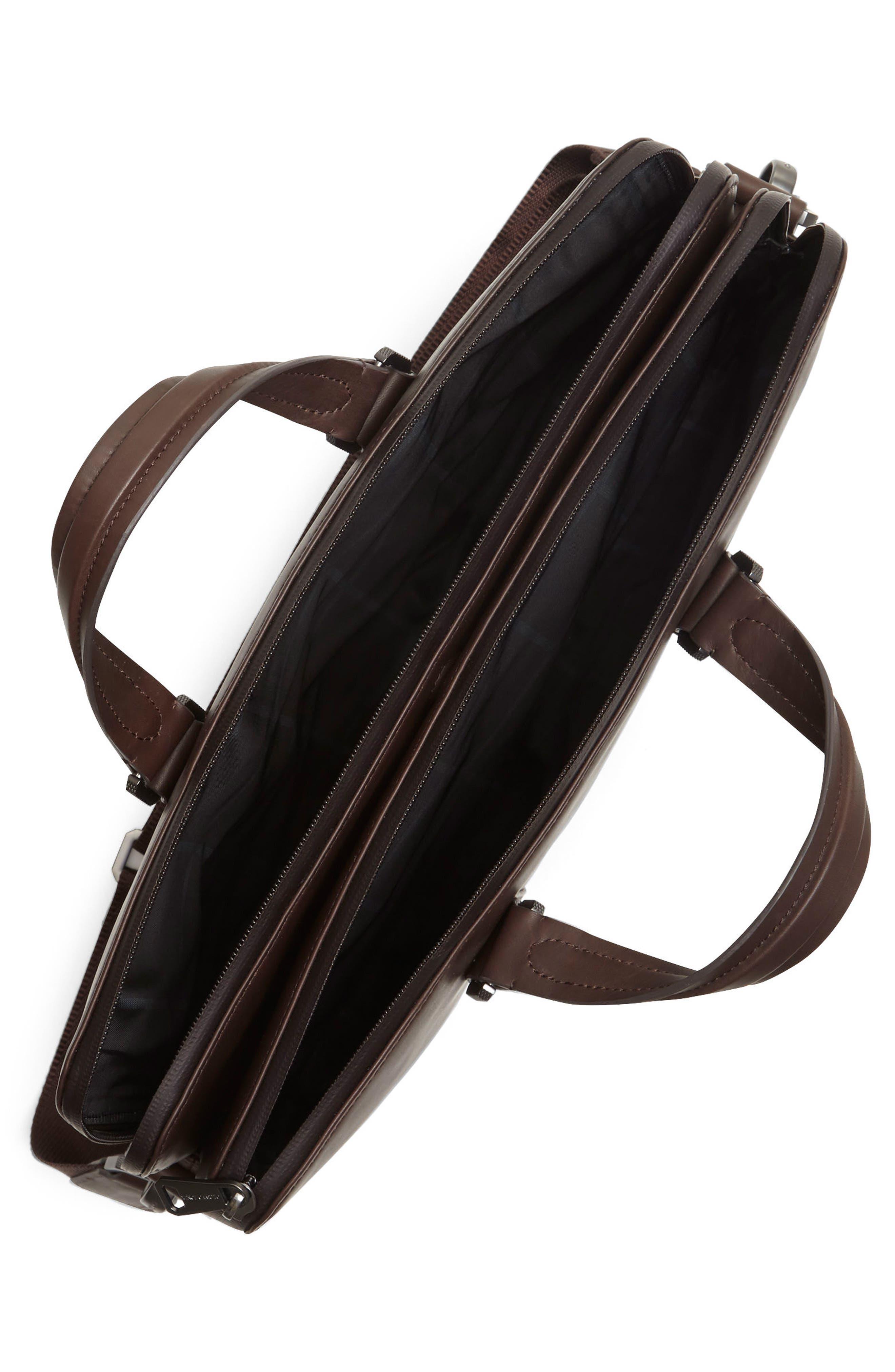 Alternate Image 3  - Vince Camuto Dopia Leather Briefcase