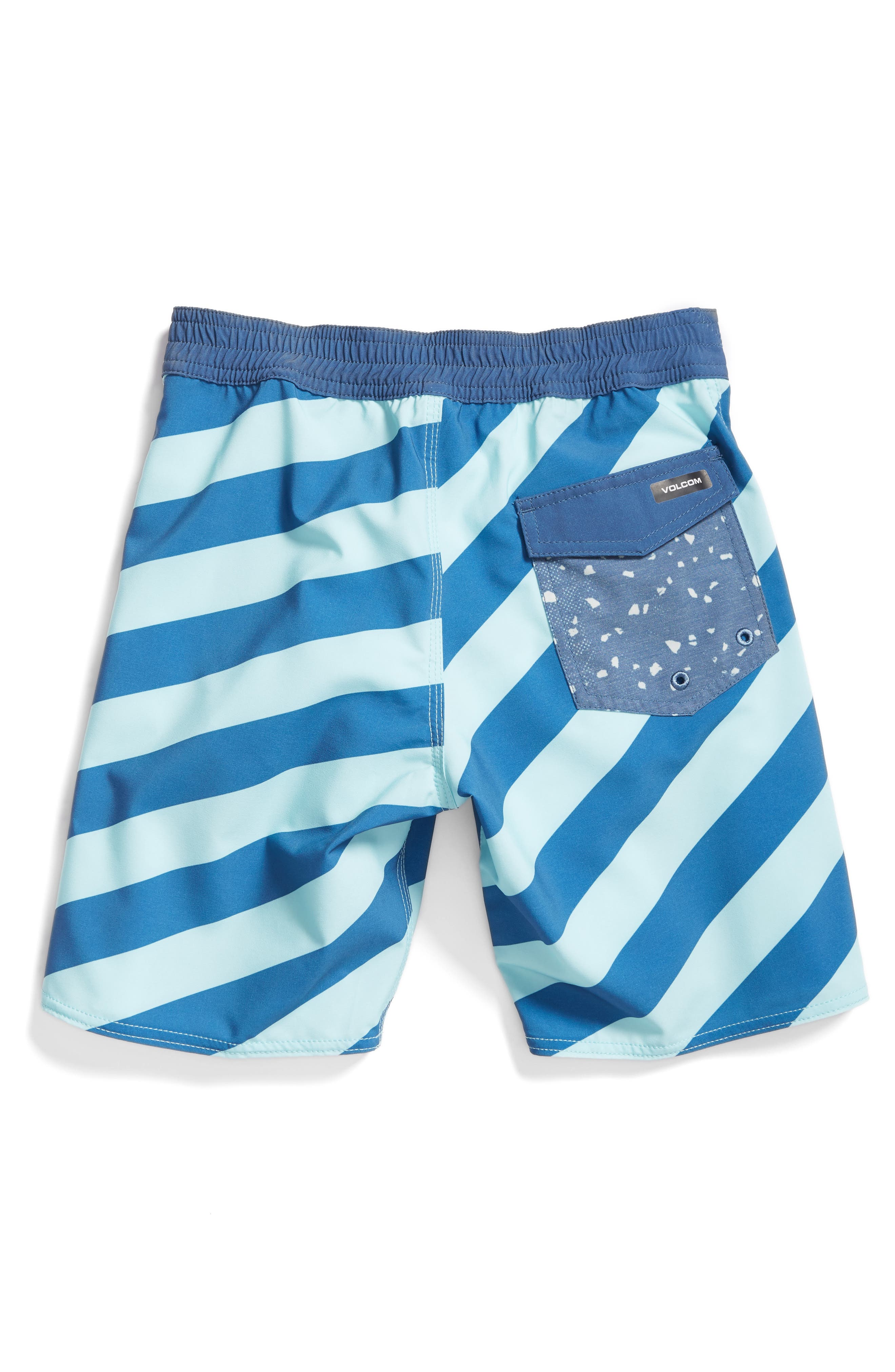 Stripey Jammer Board Shorts,                             Alternate thumbnail 2, color,                             Deep Water