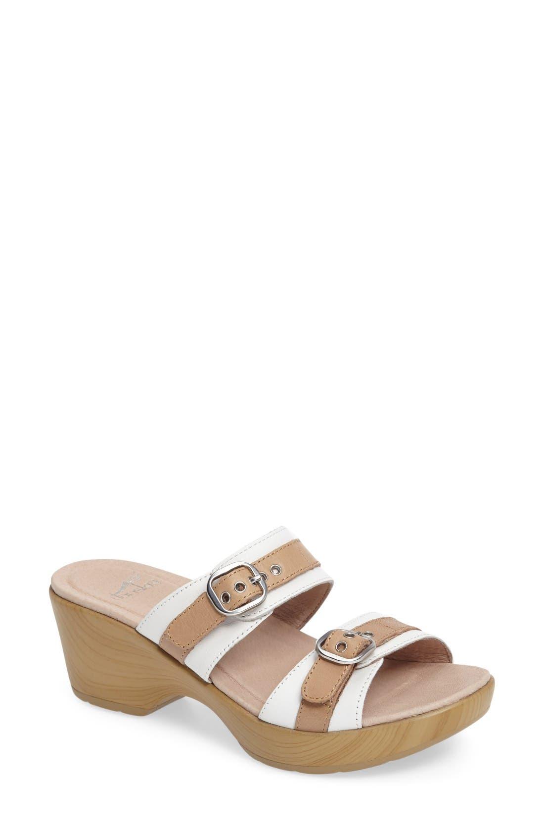 Alternate Image 1 Selected - Dansko 'Jessie' Double Strap Sandal (Women)