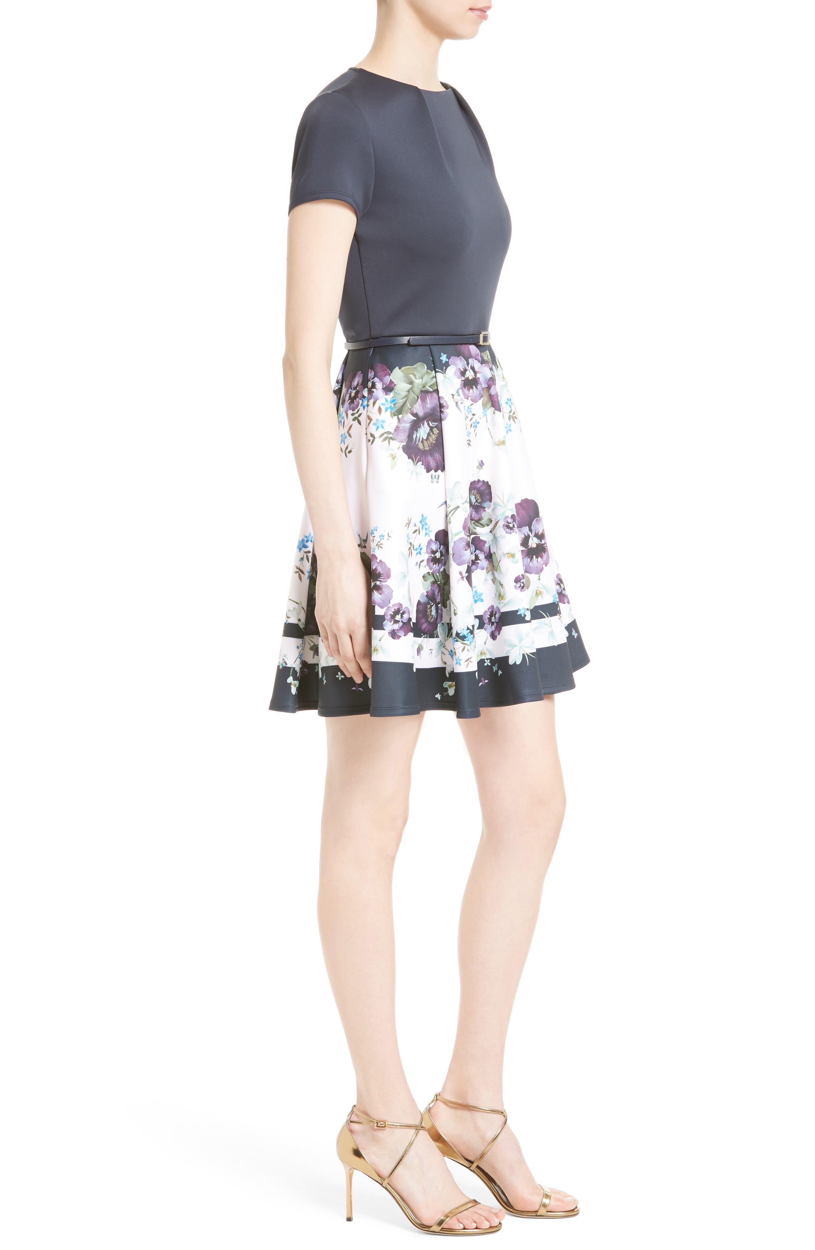 Alternate Image 3  - Ted Baker London Stefh Fit & Flare Dress