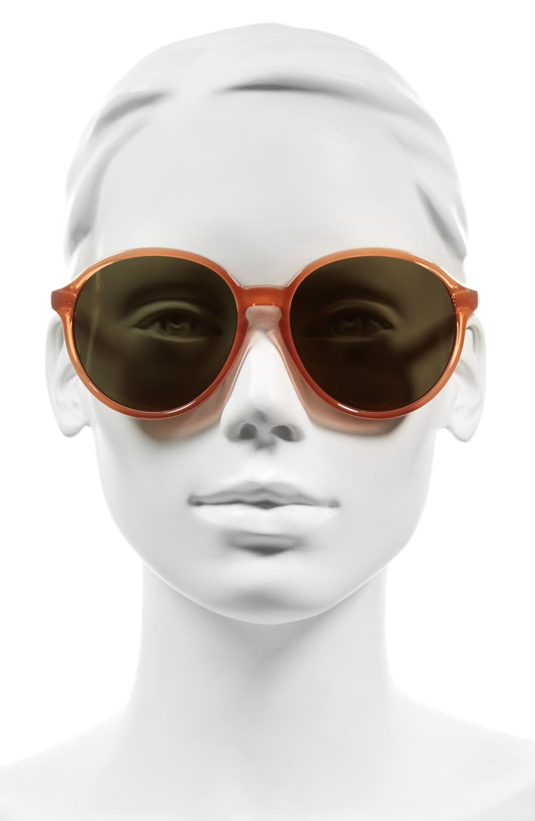 Alternate Image 2  - ELECTRIC 'Riot' 58mm Round Sunglasses