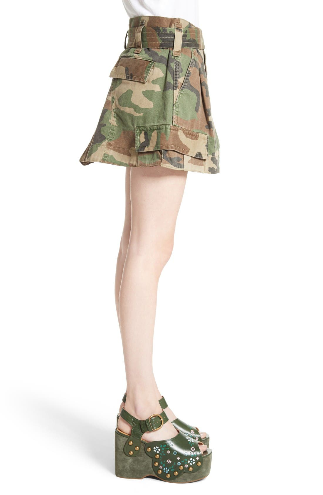 Alternate Image 5  - MARC JACOBS Camo Print Cargo Miniskirt