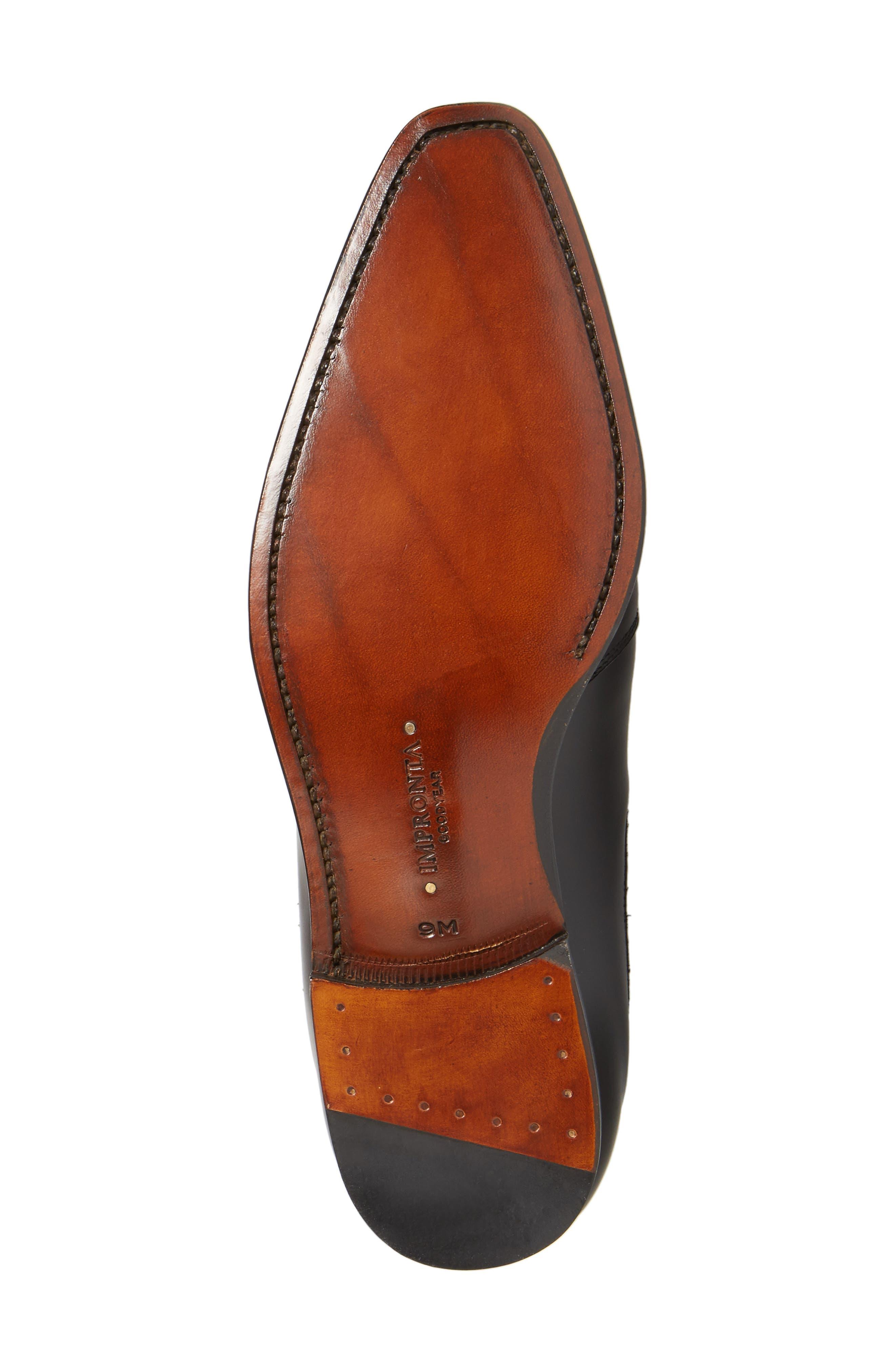 by Mezlan G112 Chelsea Boot,                             Alternate thumbnail 4, color,                             Black