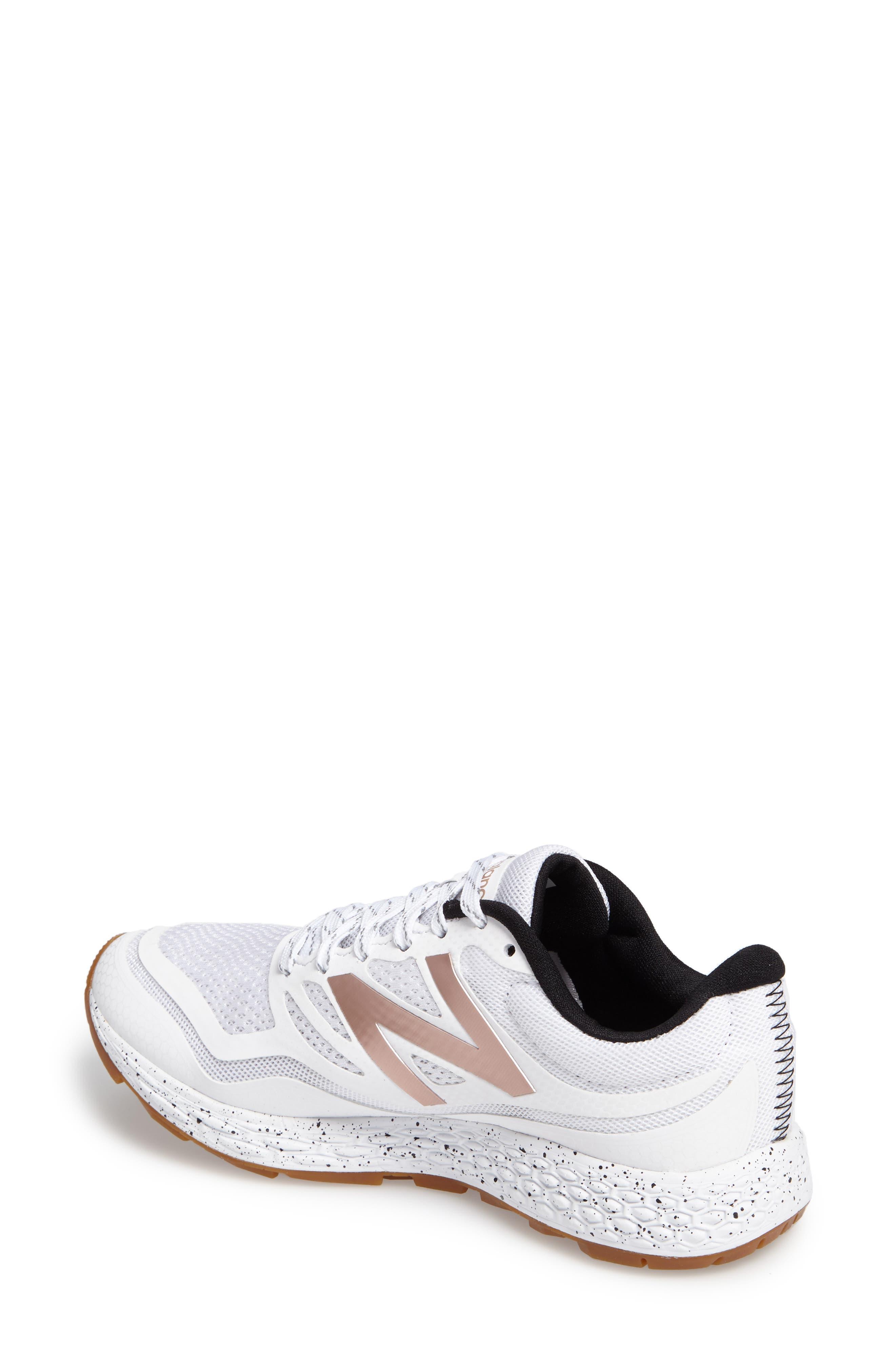 Gobi Fresh Foam Trail Running Shoe,                             Alternate thumbnail 2, color,                             White