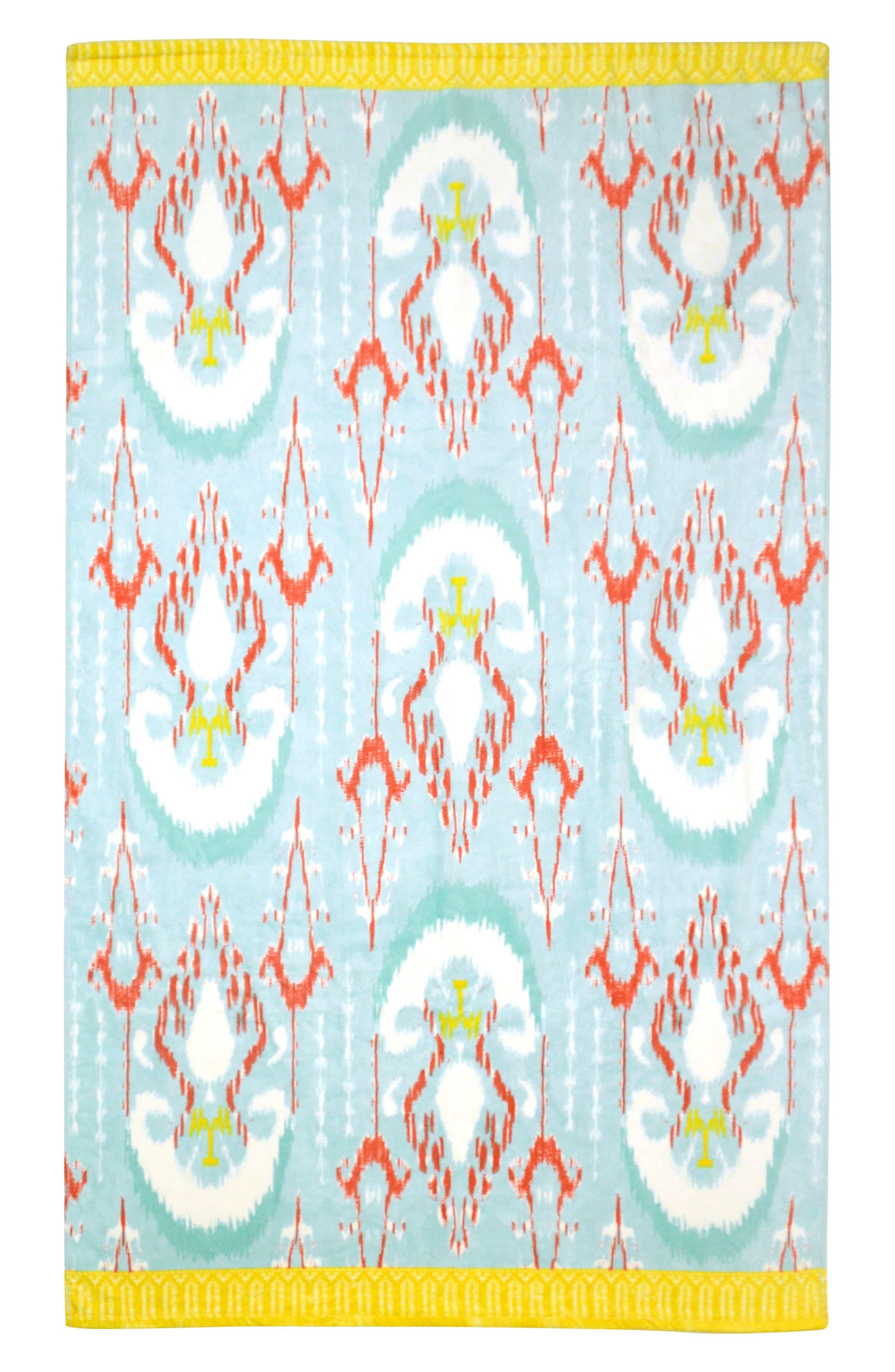 Vaya Resort Towel,                             Main thumbnail 1, color,                             Aqua