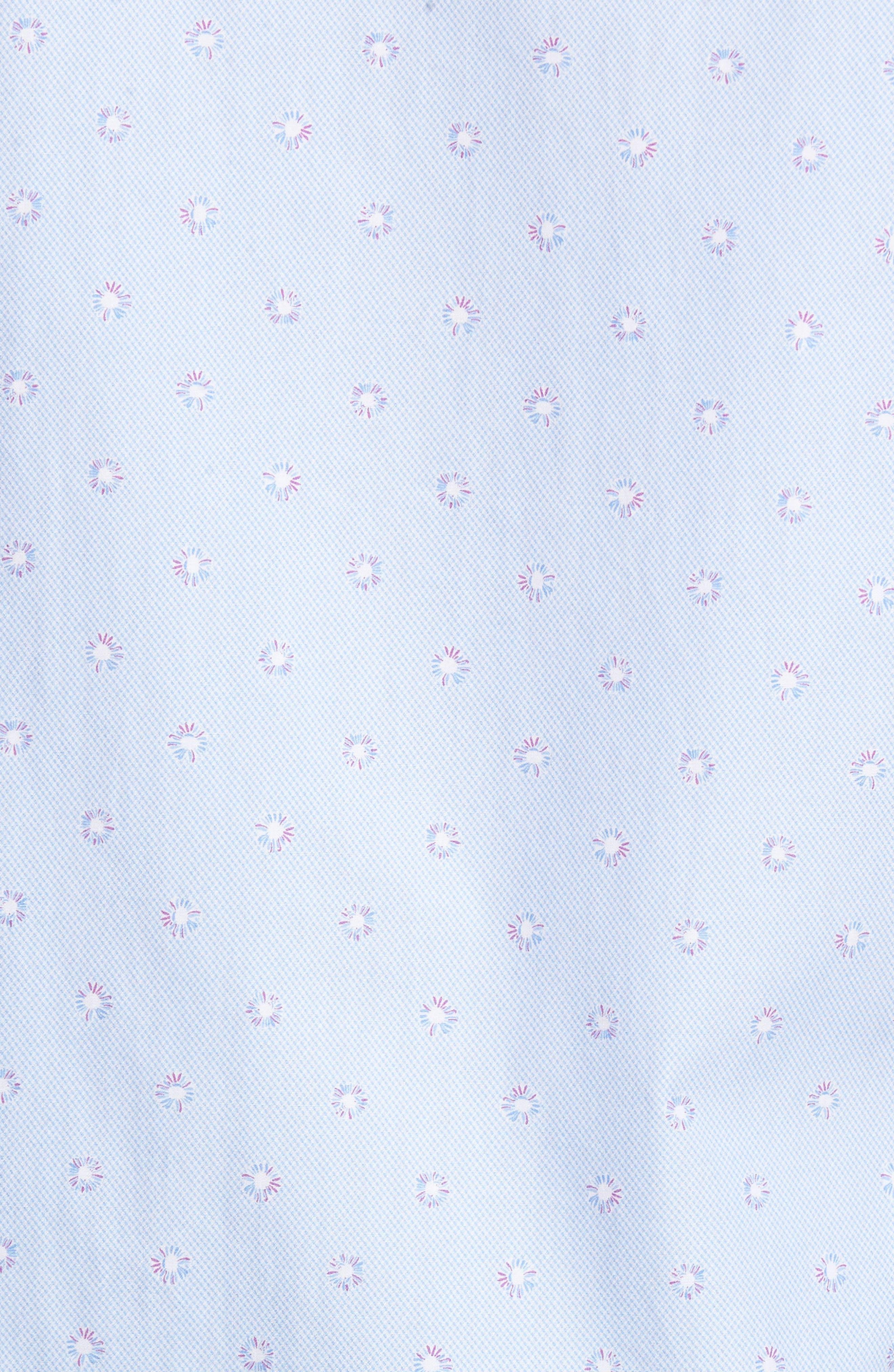 Alternate Image 5  - Stone Rose Slim Fit Dot Sport Shirt