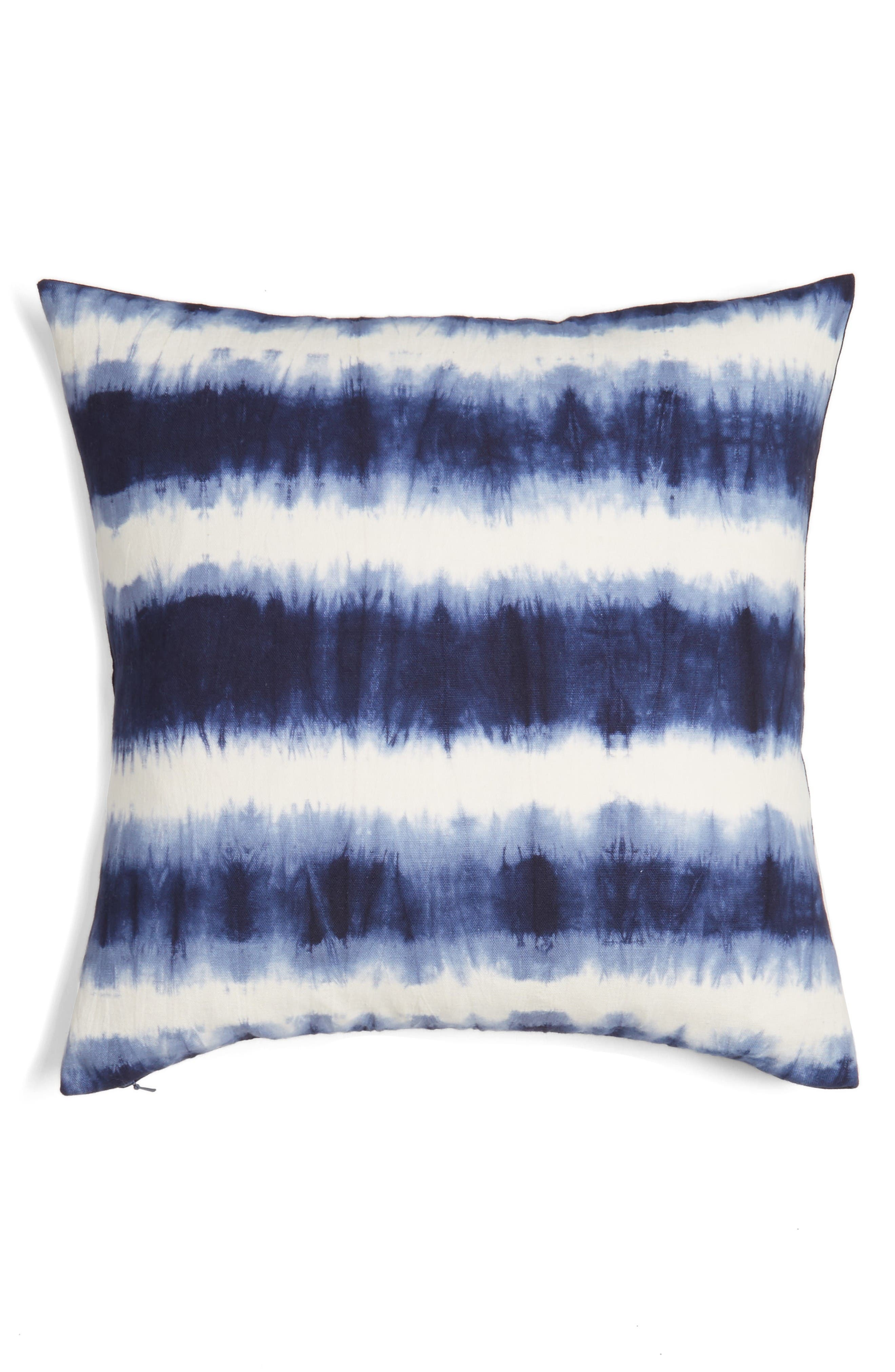 Nordstrom at Home Tie Dye Stripe Pillow