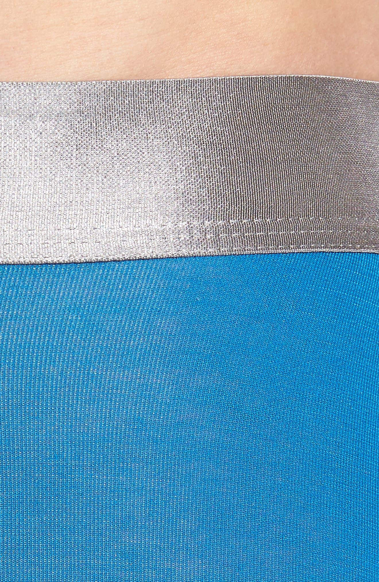 Second Skin Titanium Boxer Briefs,                             Alternate thumbnail 4, color,                             Imperial Blue