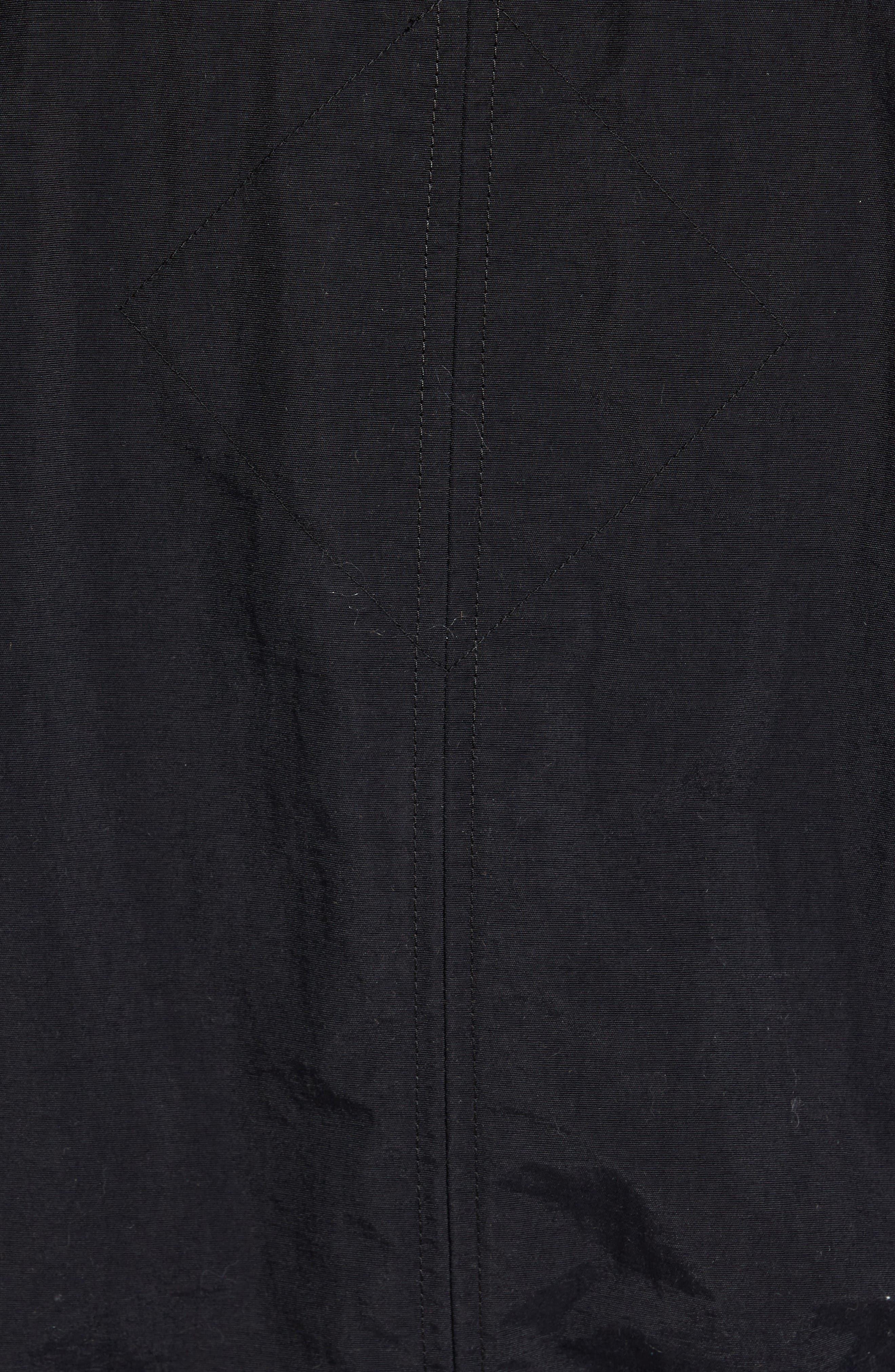 Faber Bomber Jacket,                             Alternate thumbnail 5, color,                             Black