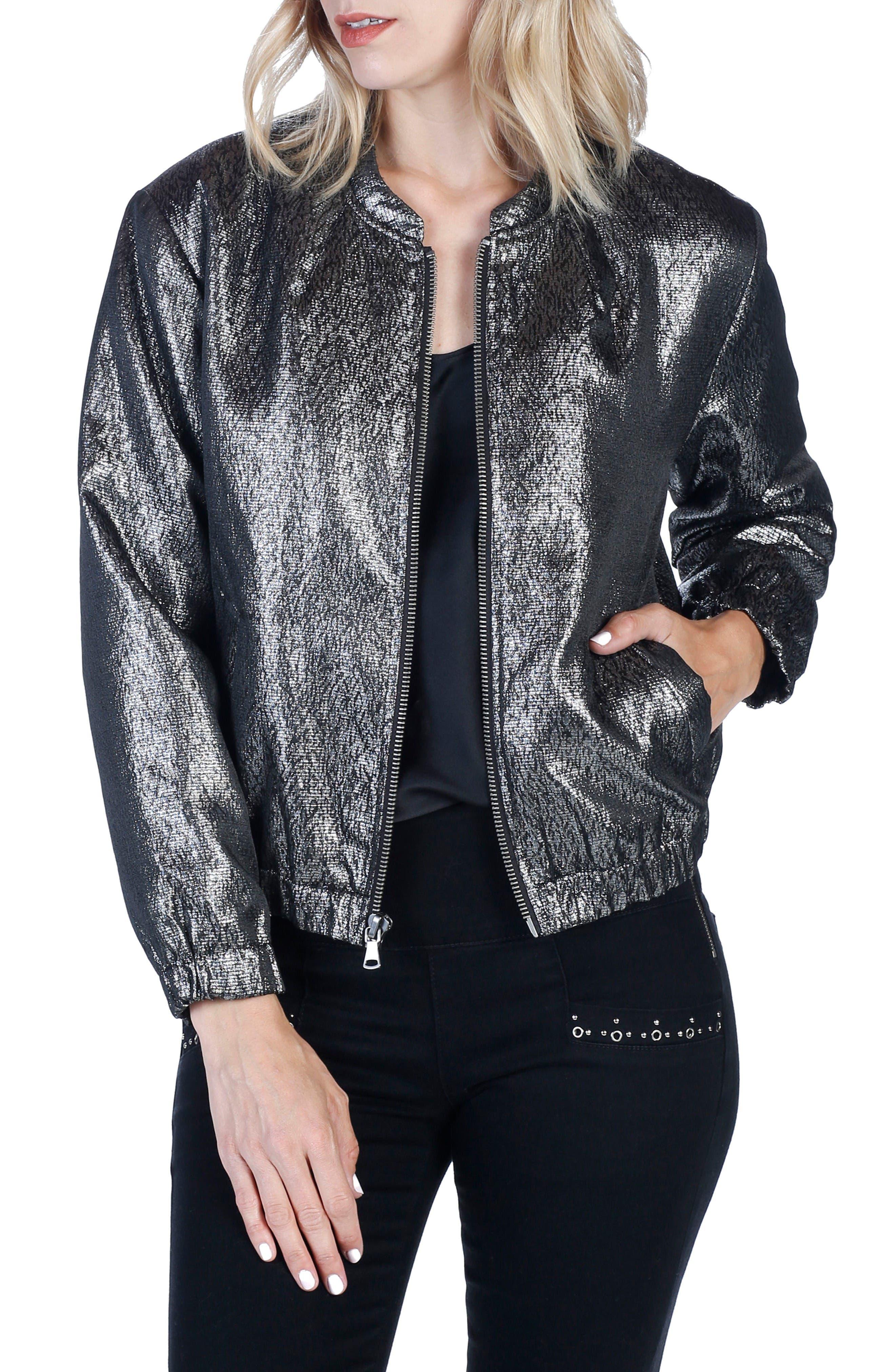 Main Image - Rosie HW x PAIGE Kimi Bomber Jacket