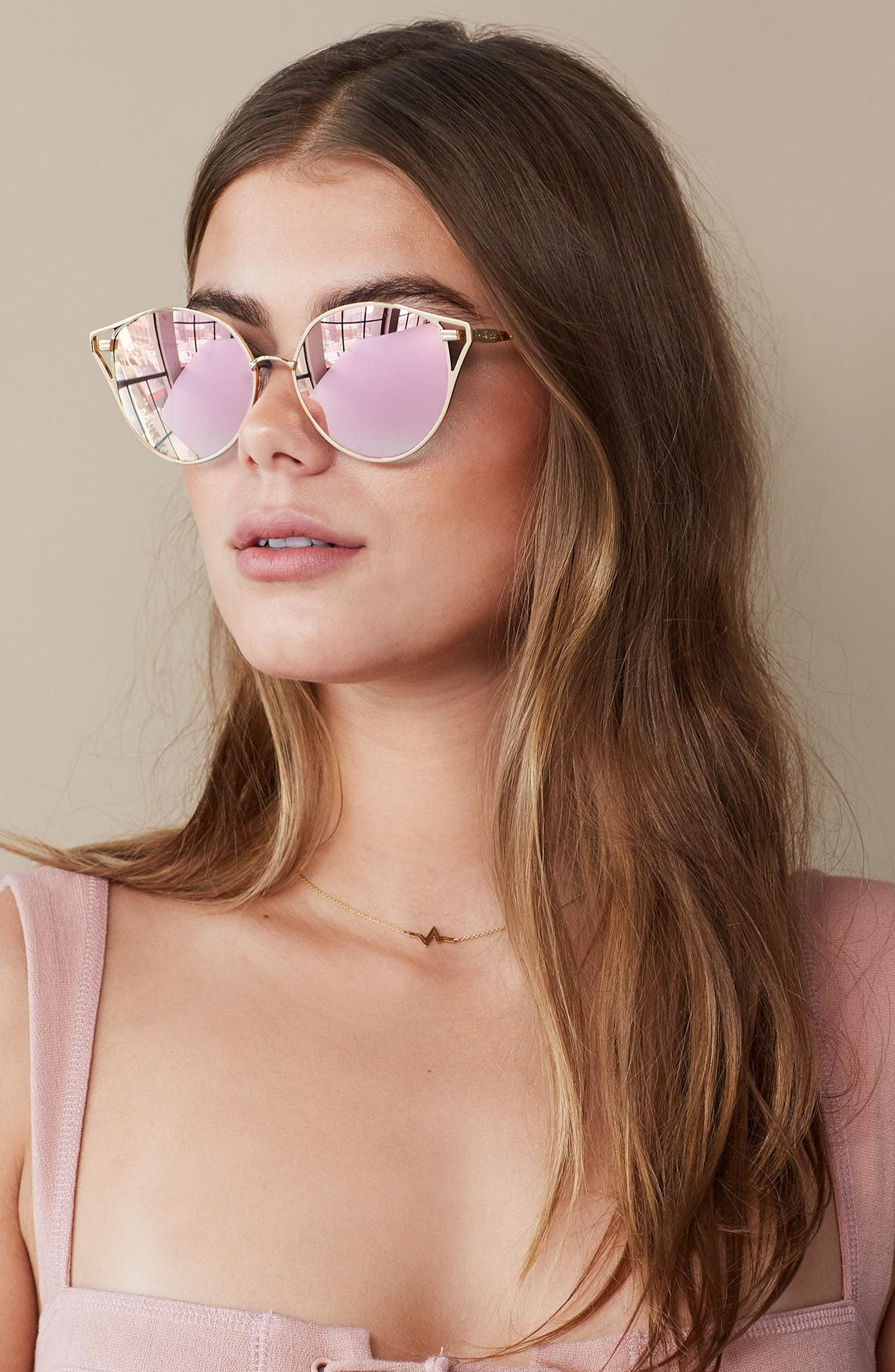 Alternate Image 4  - Sonix Ibiza 55mm Cat Eye Sunglasses