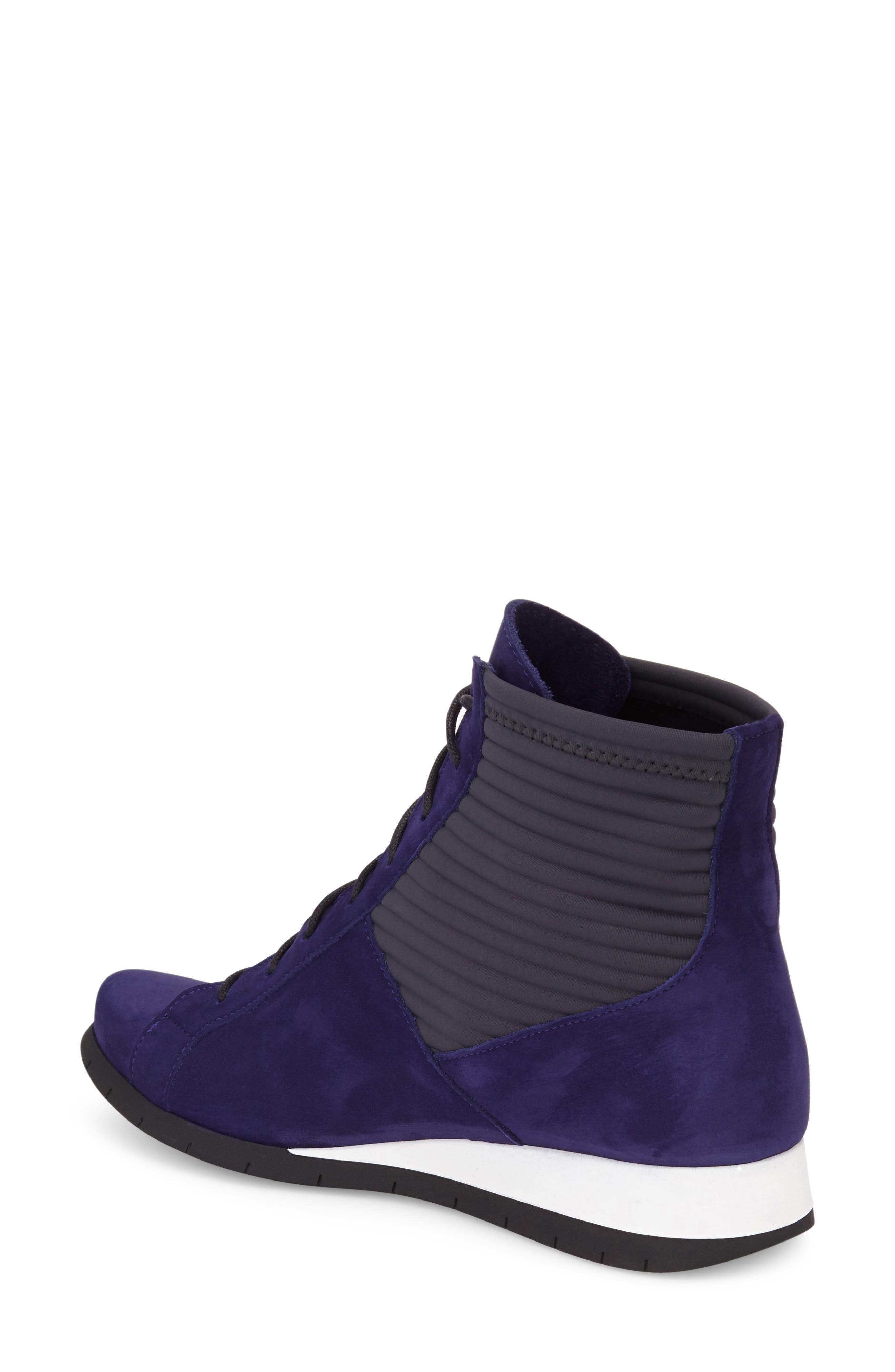 Alternate Image 2  - Arche 'Situ' Wedge High Top Sneaker (Women)