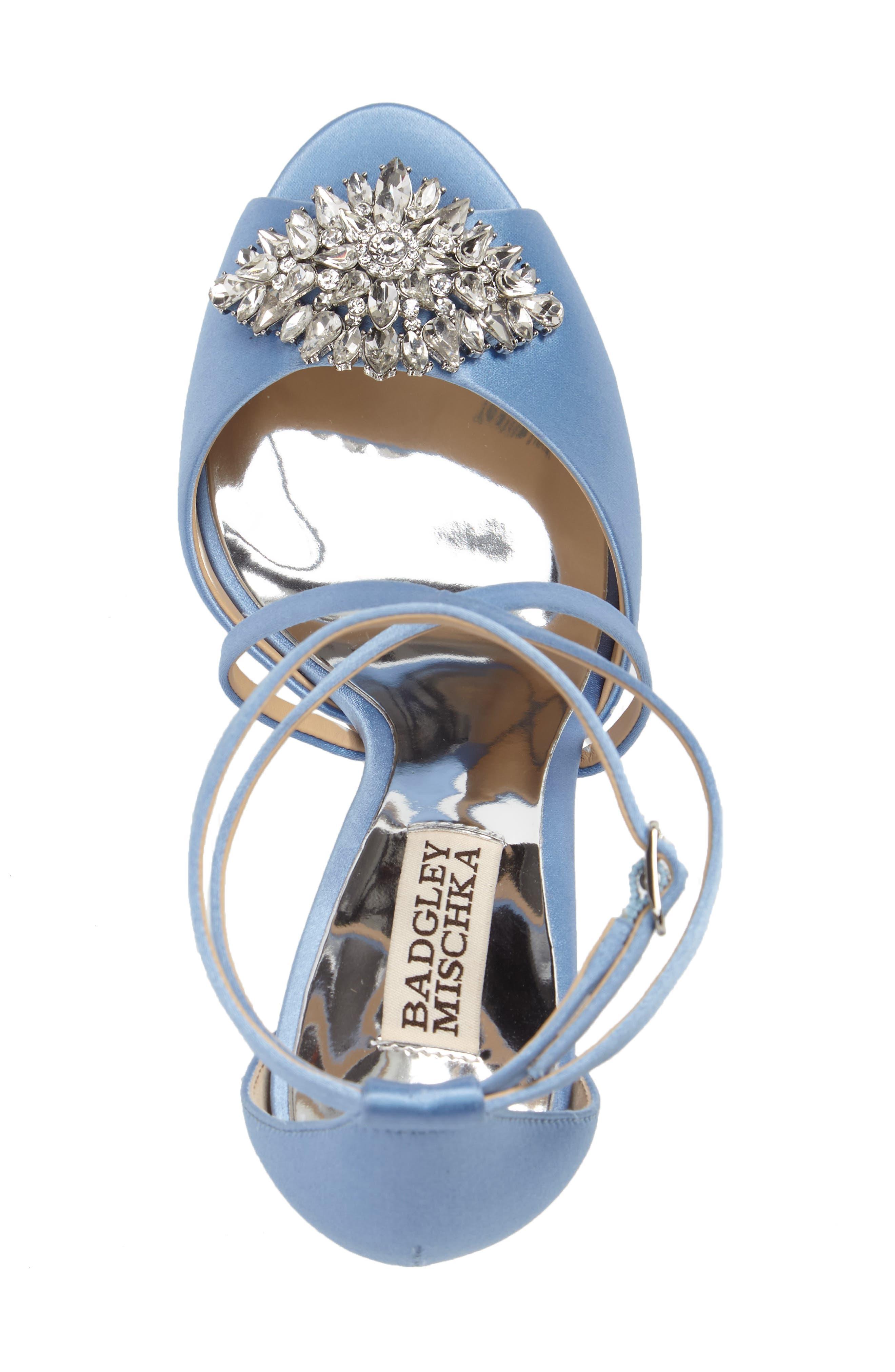 Alternate Image 3  - Badgley Mischka Tatum Embellished Strappy Sandal (Women)