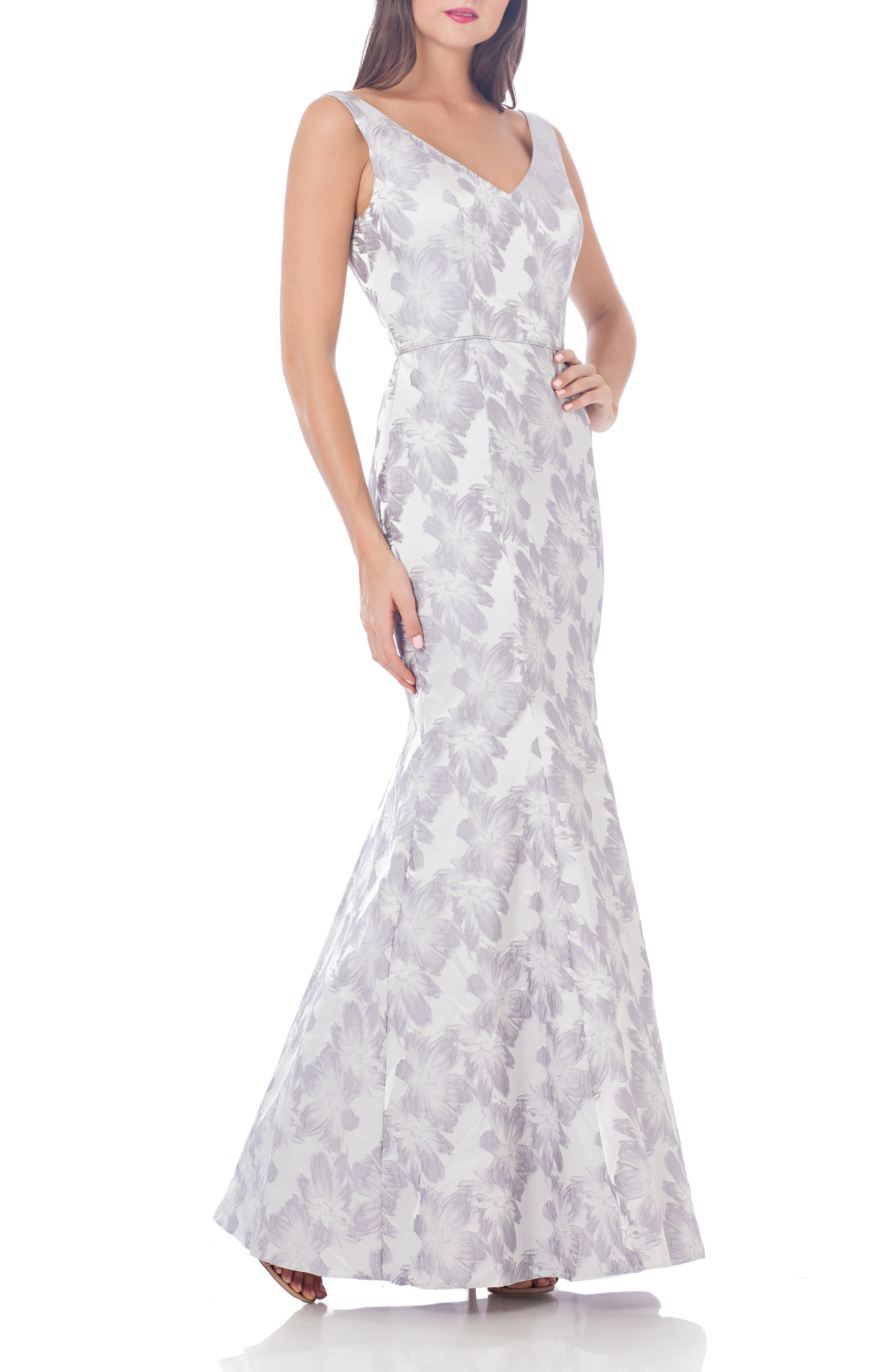 JS collections Jacquard Mermaid Gown