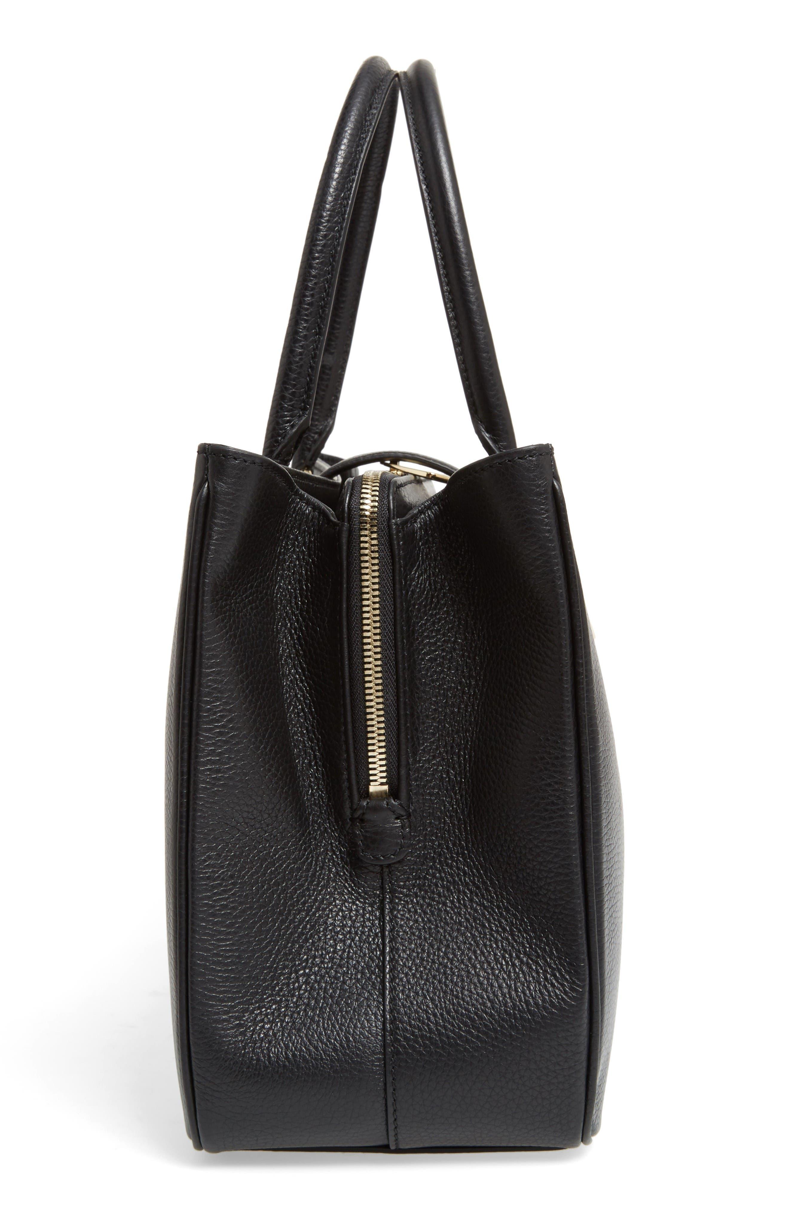 Alternate Image 5  - Dolce&Gabbana Grained Leather Shopper