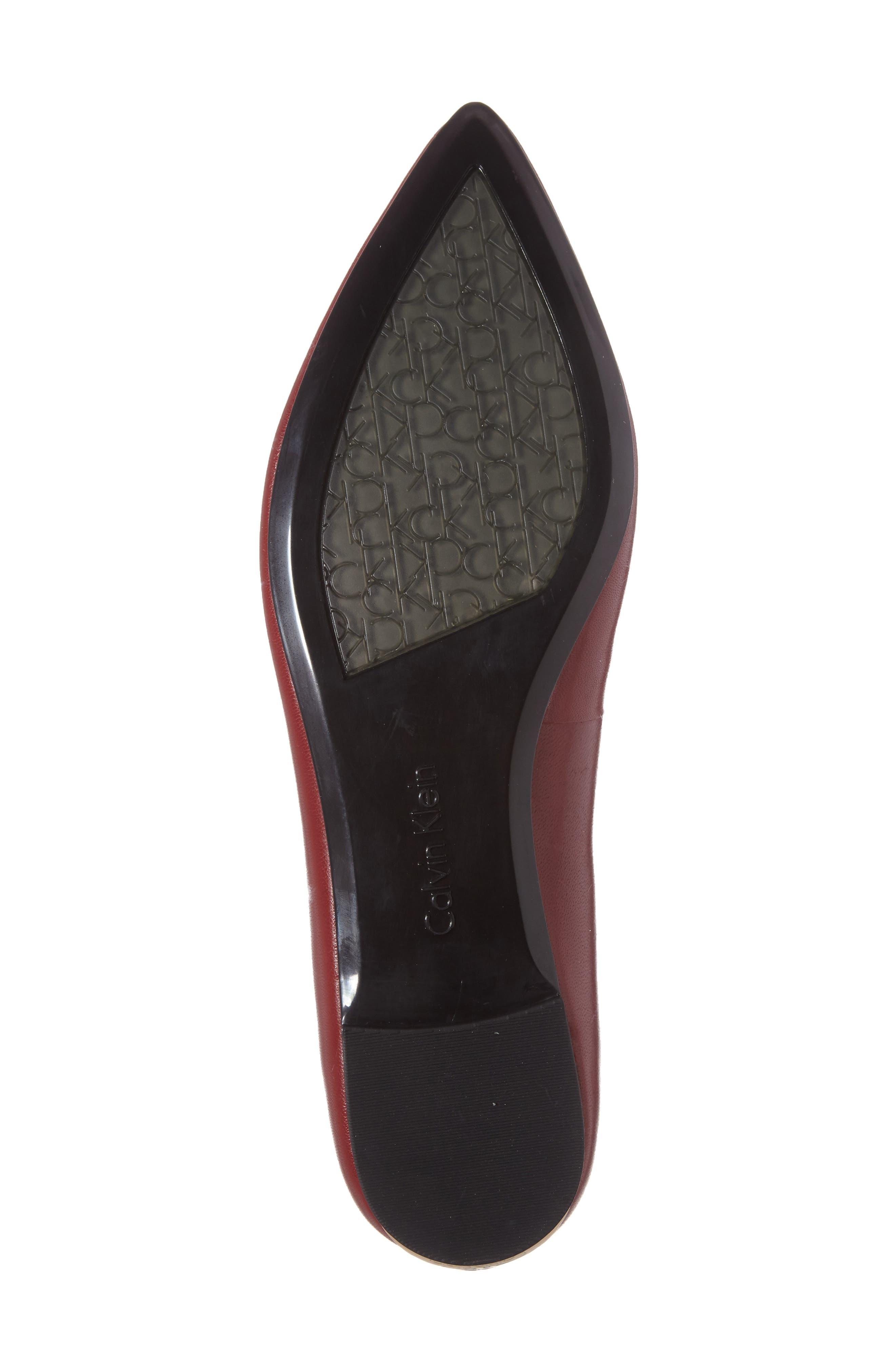 Alternate Image 4  - Calvin Klein Genie Pointy Toe Flat (Women)