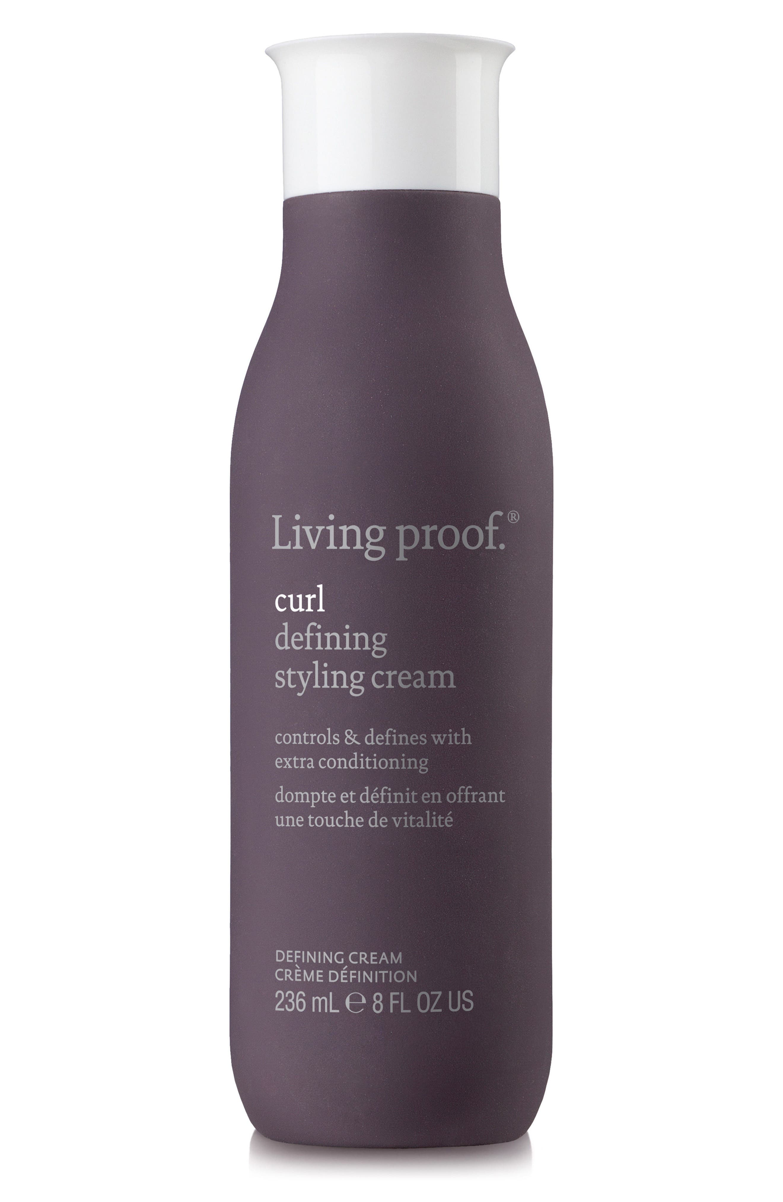 Curl Defining Styling Cream,                         Main,                         color, No Color