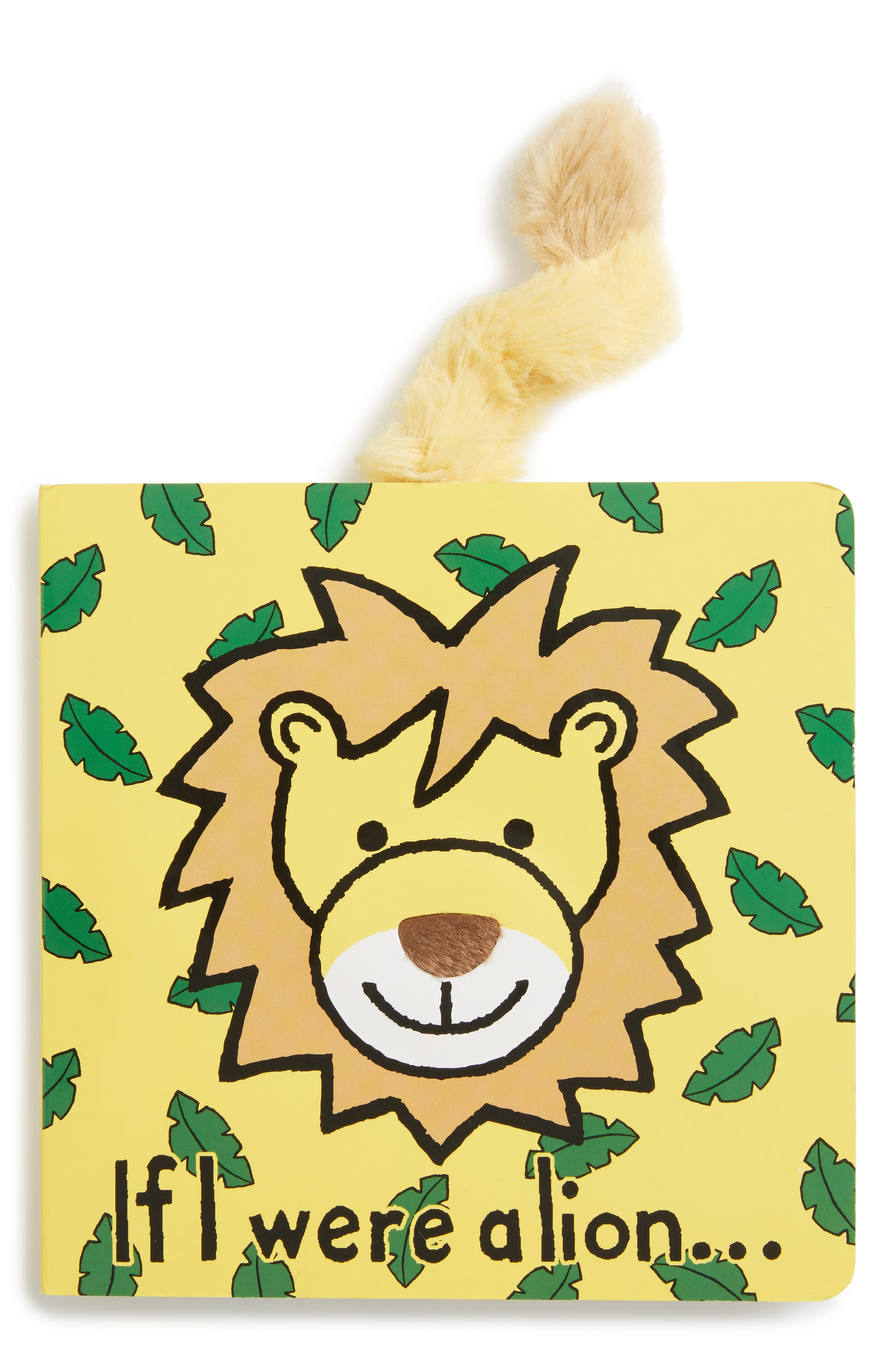 If I Were A Lion' Board Book,                             Main thumbnail 1, color,                             Brown