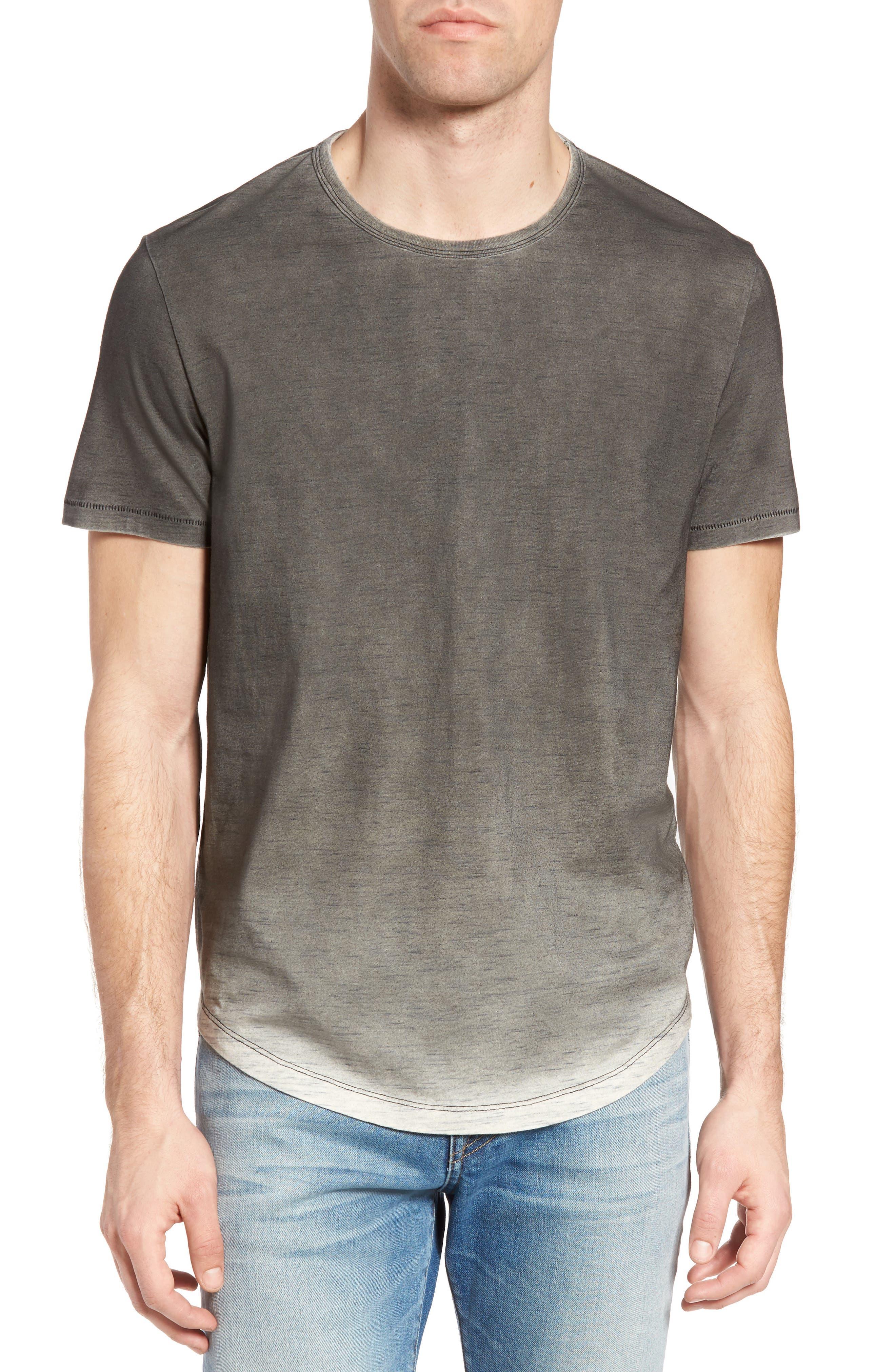 Kendrick Spray Heather Jersey T-Shirt,                             Main thumbnail 1, color,                             Coal