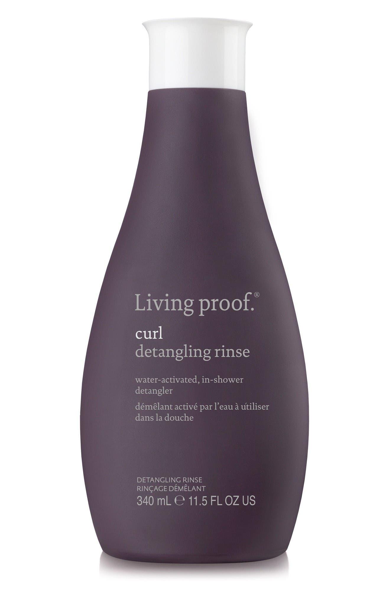 Main Image - Living proof® Curl Detangling Rinse