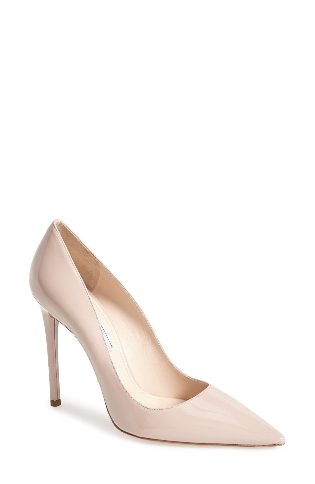 Alternate Image 1 Selected - Prada Pointy Toe Pump (Women)