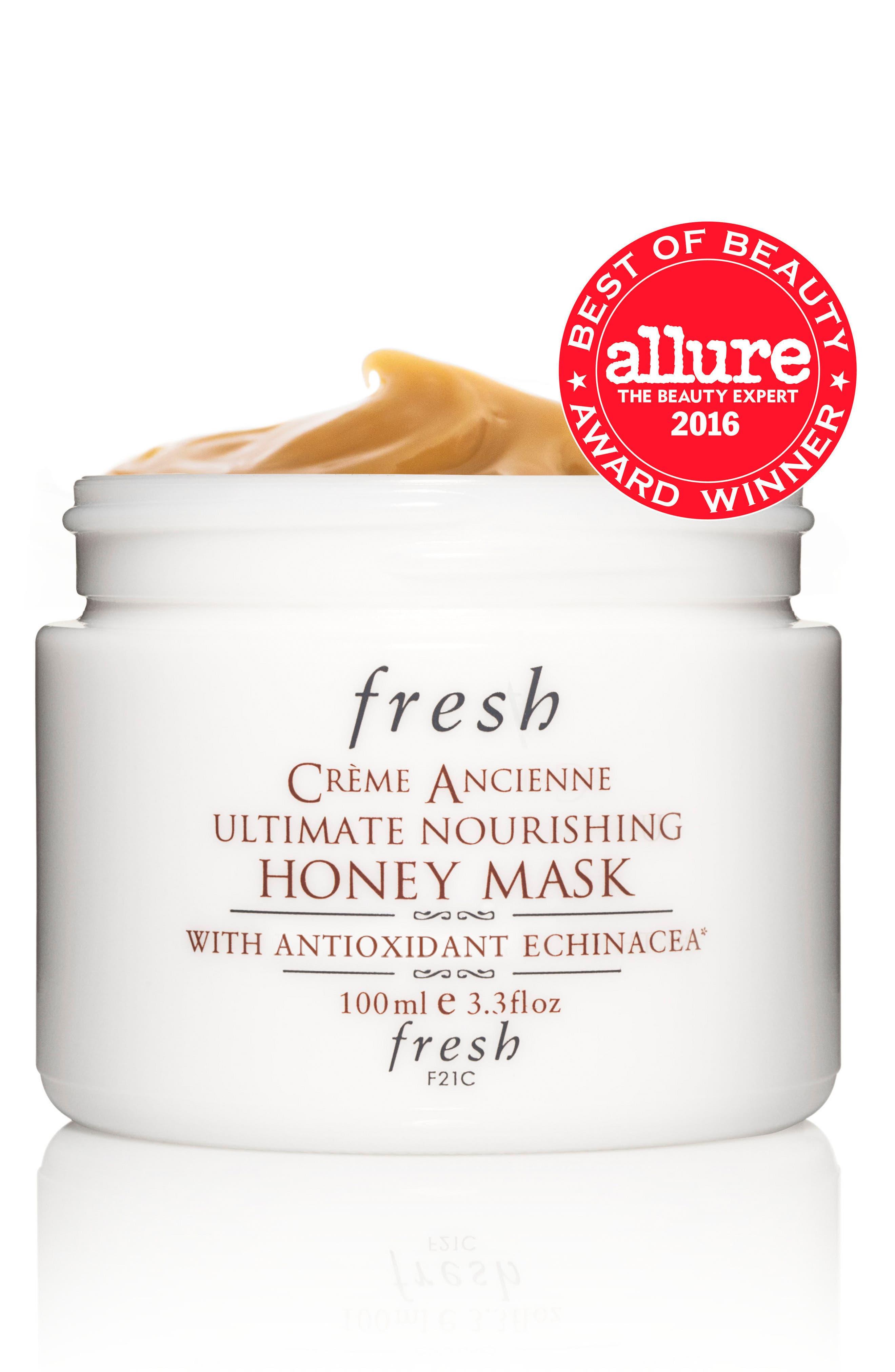 Alternate Image 2  - Fresh® Crème Ancienne® Ultimate Nourishing Honey Mask