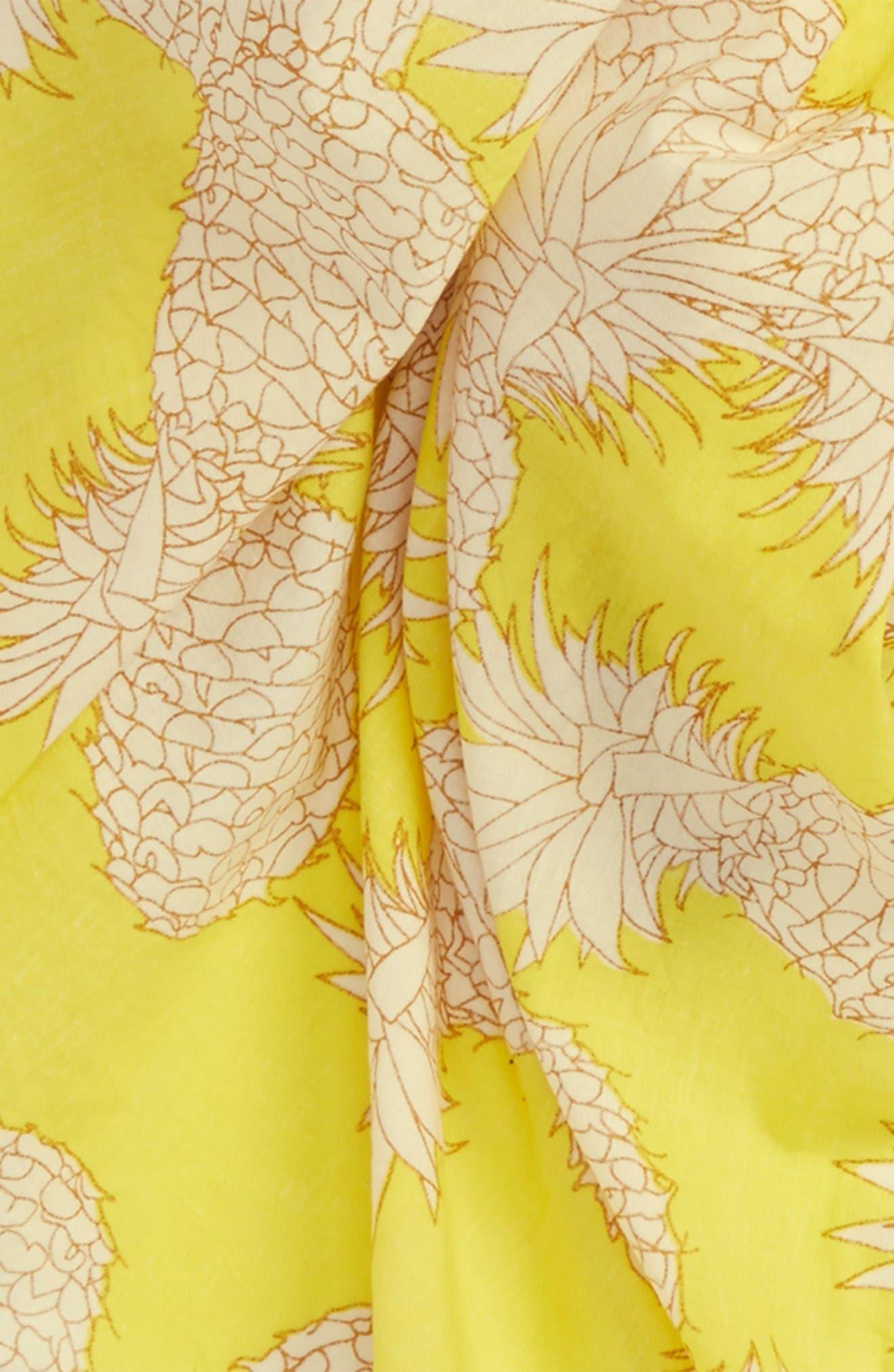 Alternate Image 2  - San Diego Hat Pineapple Scarf