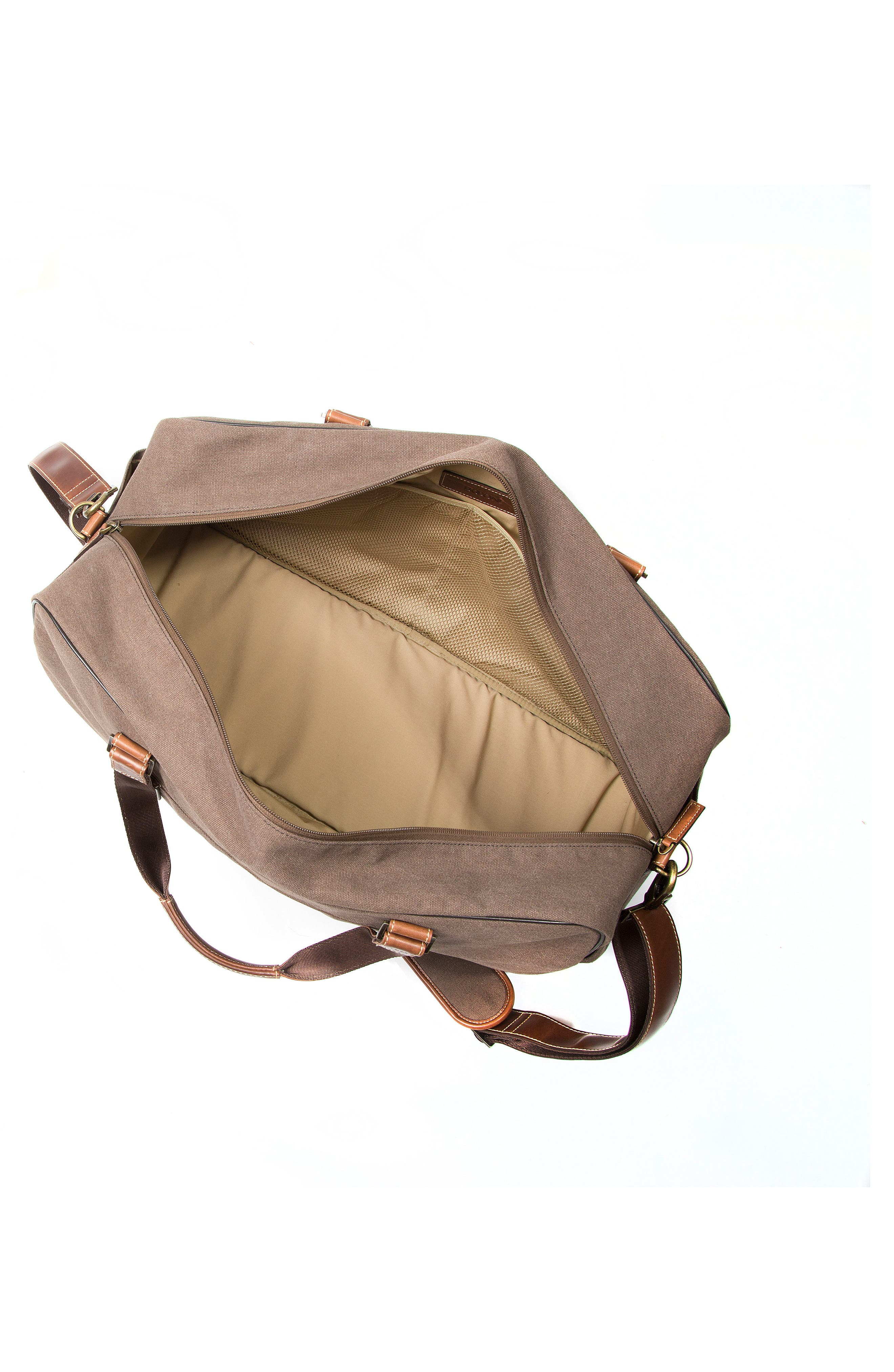 Bryant LTE Getaway Duffel Bag,                             Alternate thumbnail 3, color,                             Antique Mahogany/ Brown
