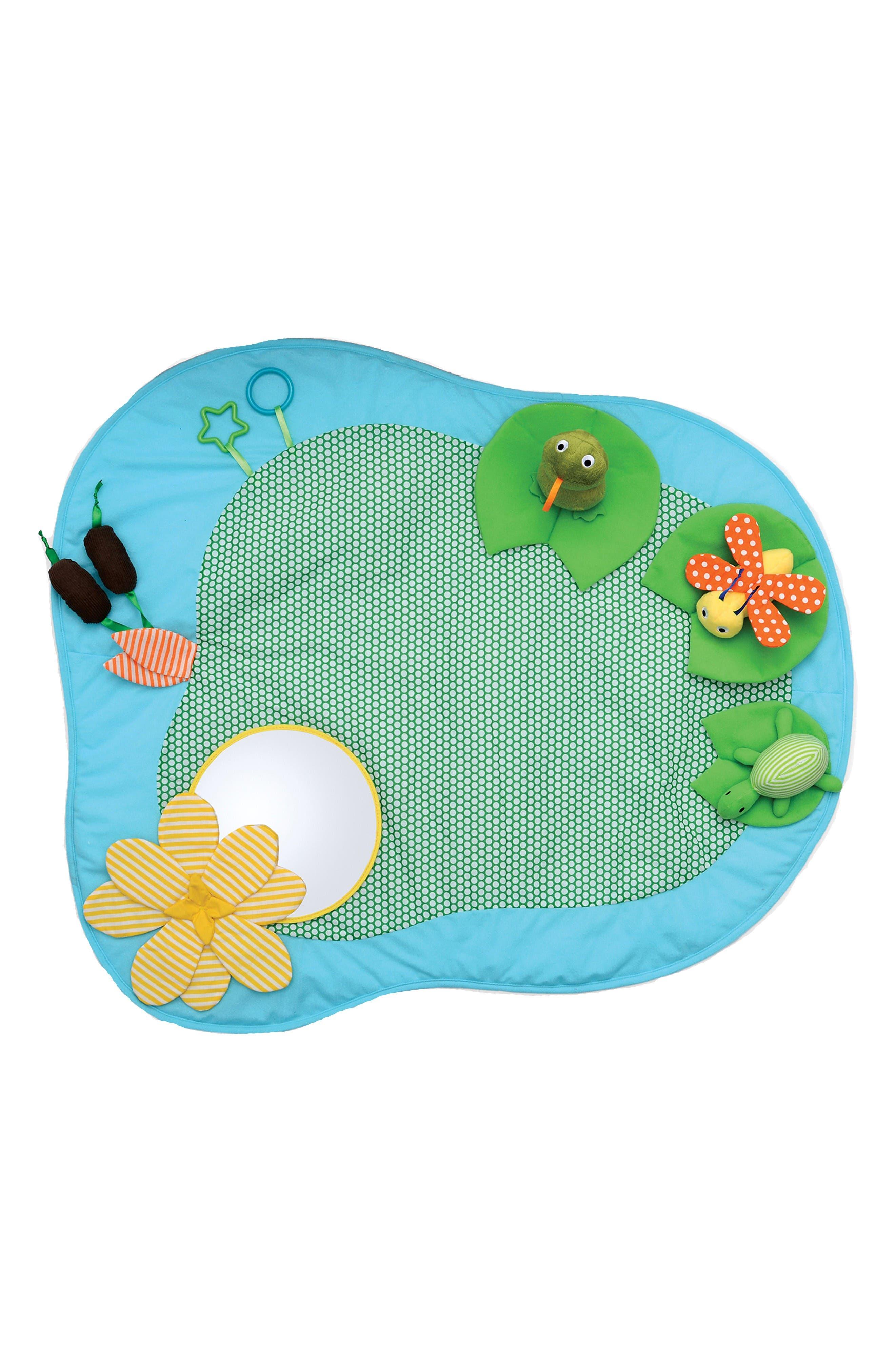 Playtime Pond Mat,                         Main,                         color, Blue