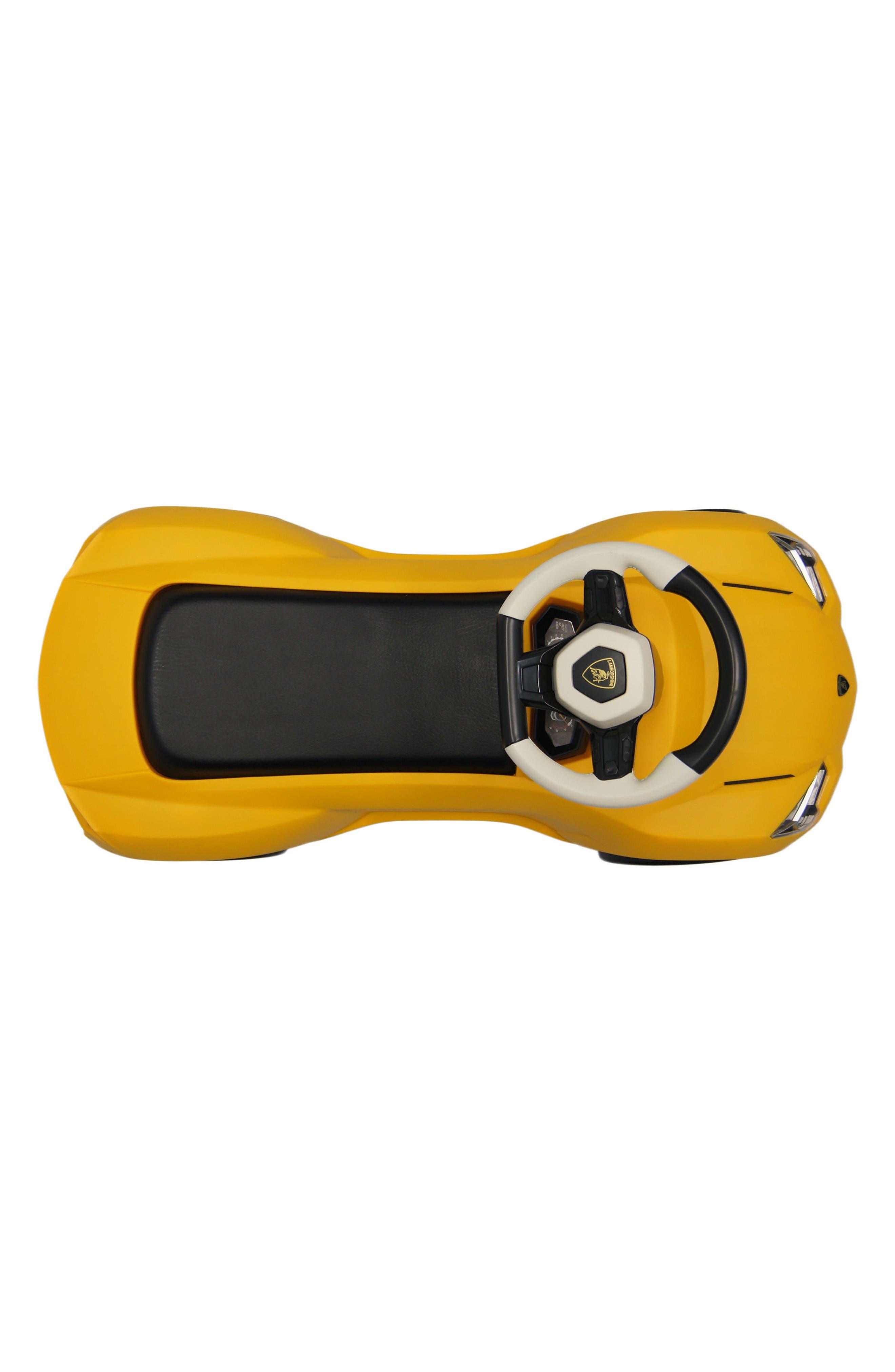 Lamborghini Urus Ride-On Push Car,                             Alternate thumbnail 4, color,                             Yellow