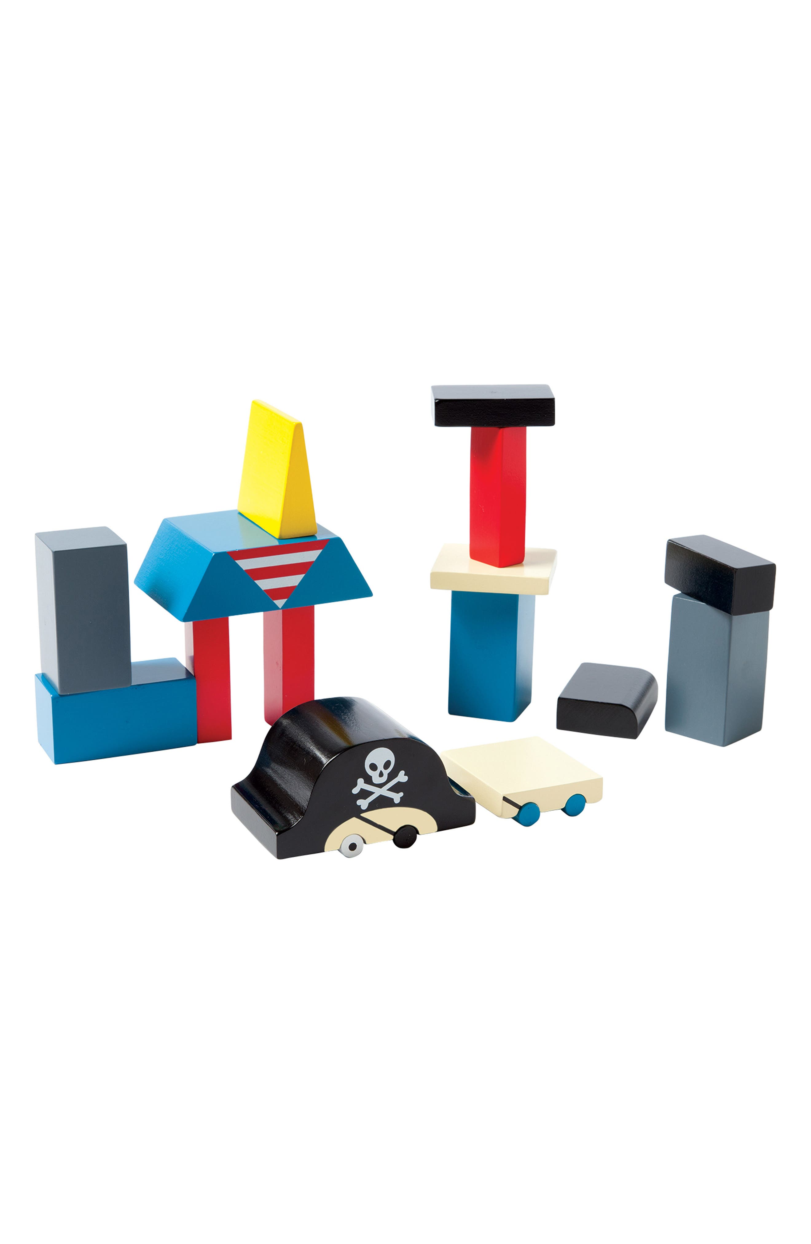 Alternate Image 2  - Manhattan Toy Arrgh! The Pirate Magnetic Blocks